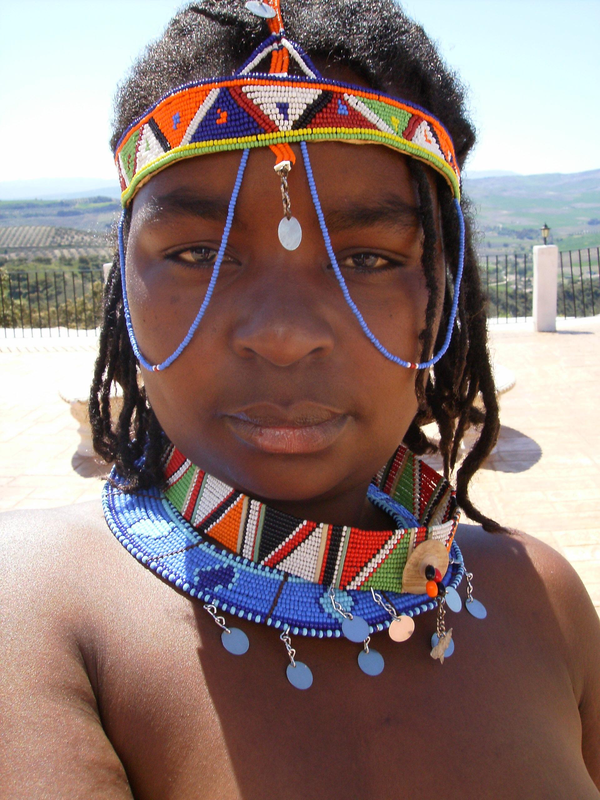 alaston Musta Afrikkalainen naiset