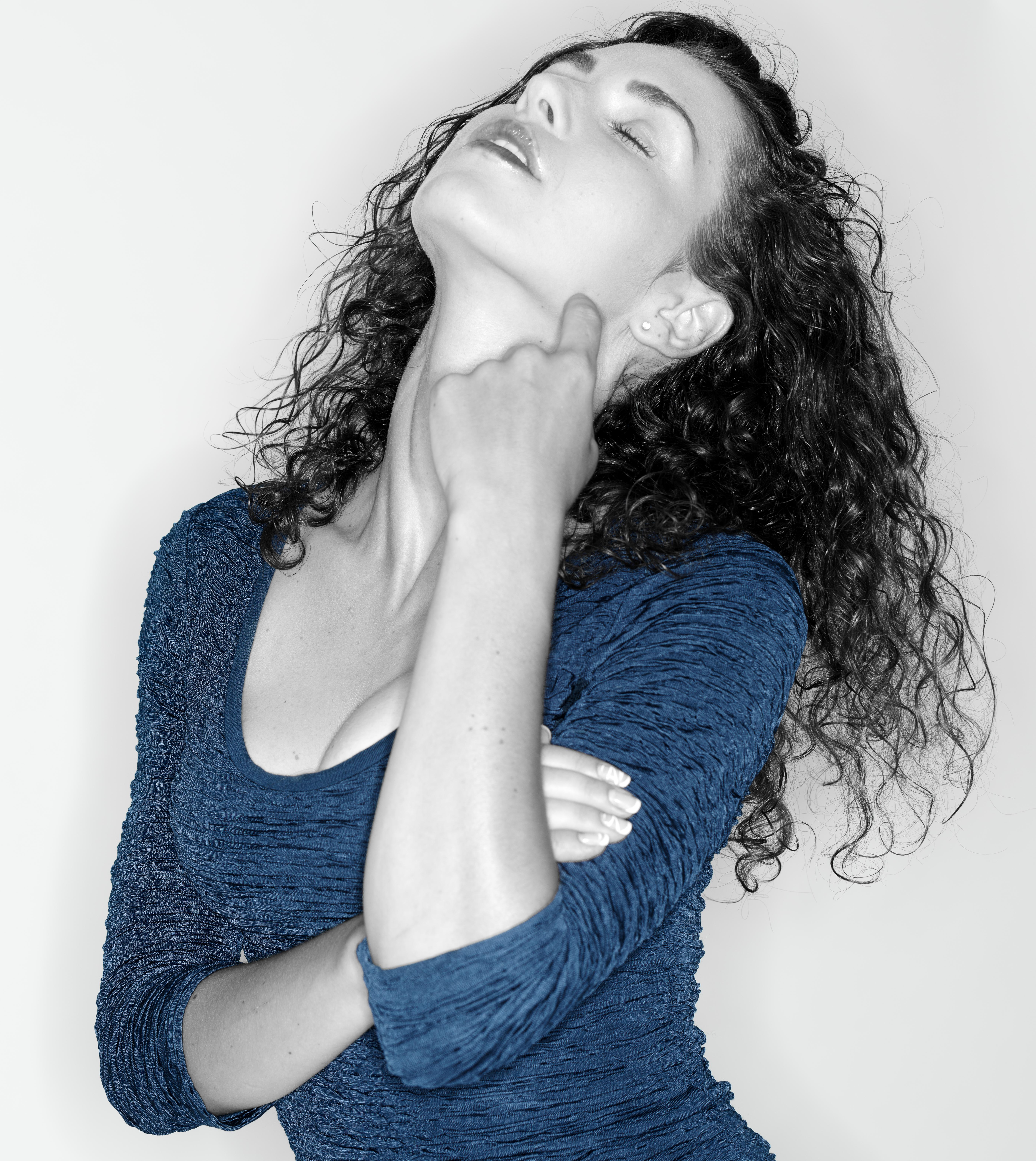 Kostenlose Foto Person Schwarz Und Weiß Mädchen Haar