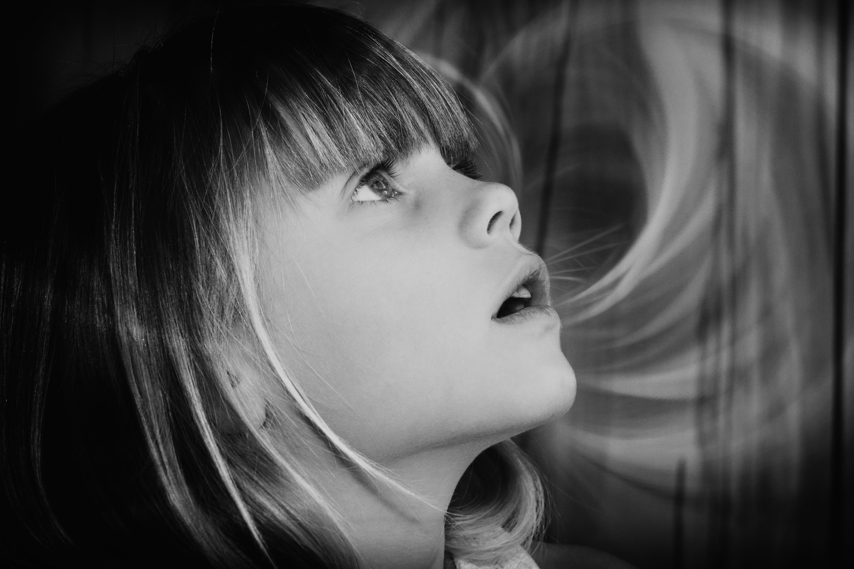 Fotoğraf Kişi Siyah Ve Beyaz Kız Kadın Görünüm Portre Model