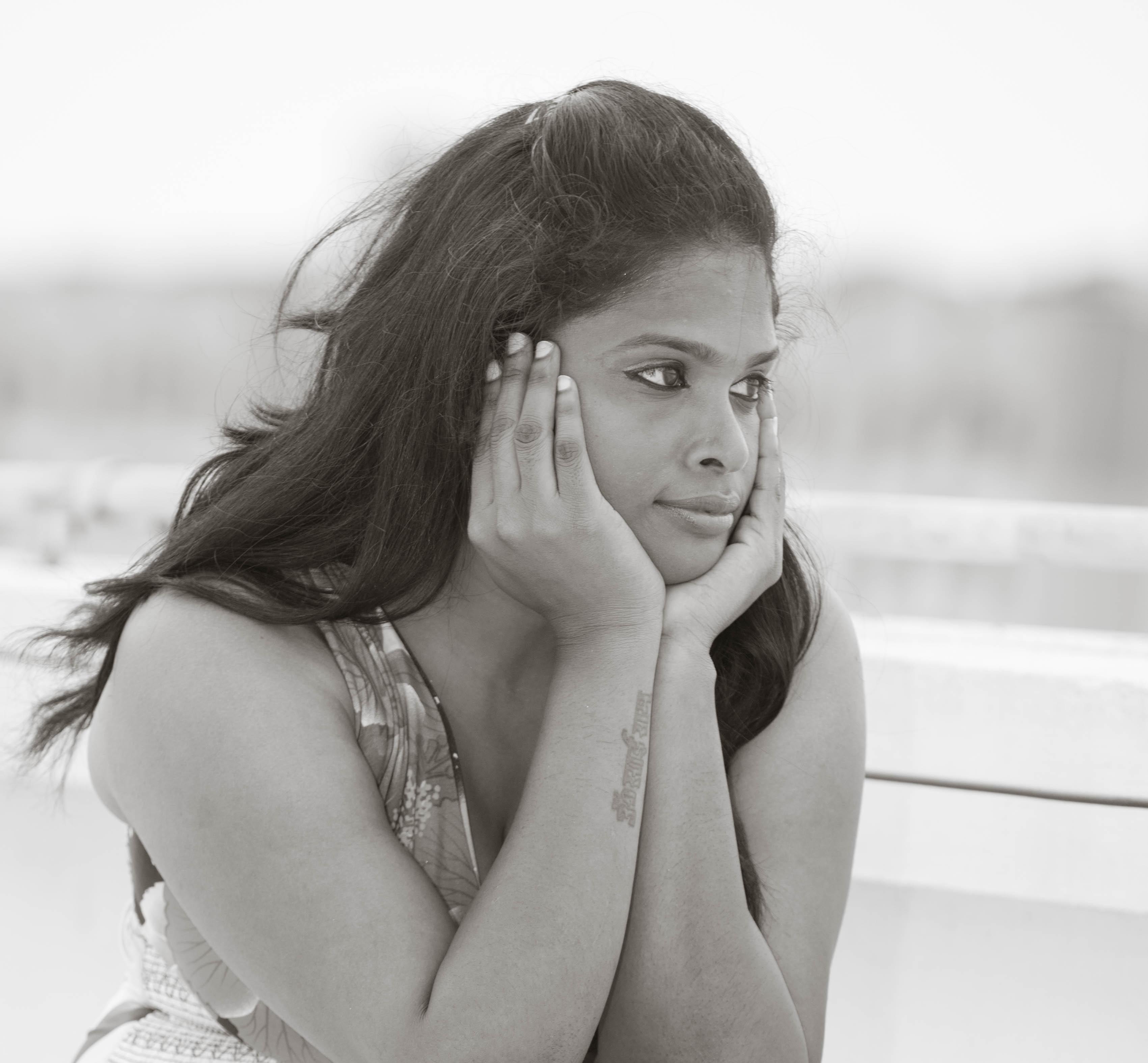 Images Gratuites La Personne Noir Et Blanc Fille Femme