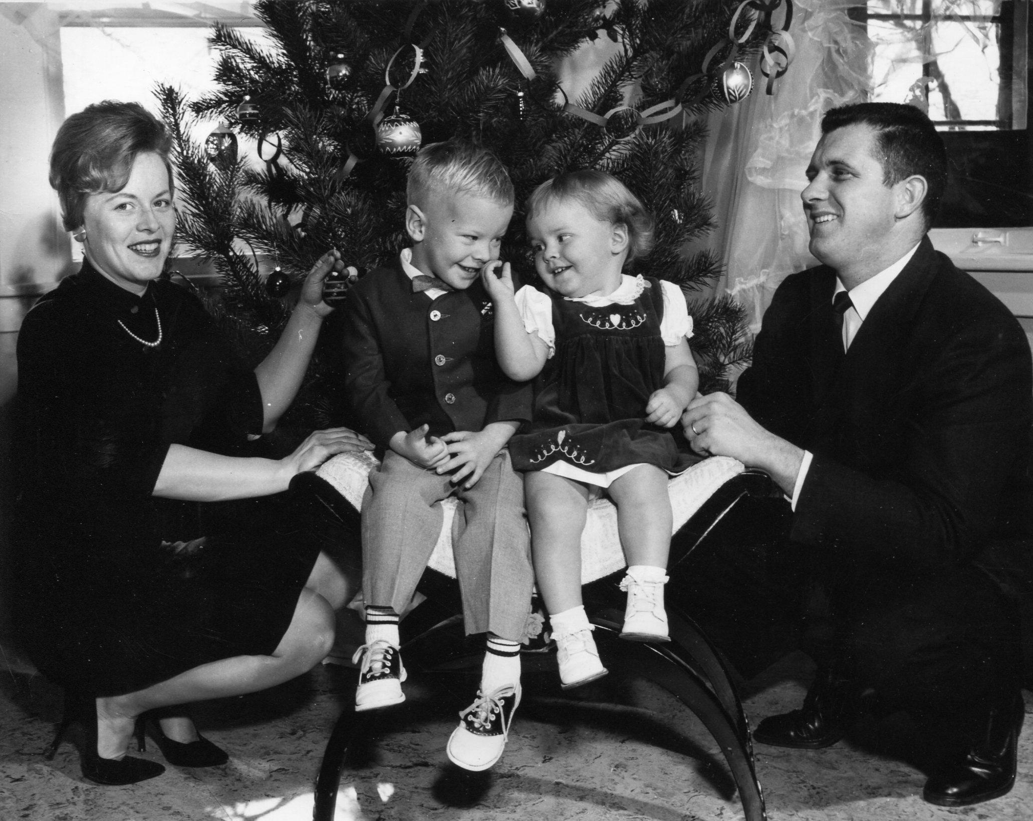 person black and white people photography retro child black monochrome christmas season family photograph image december - Black People Christmas