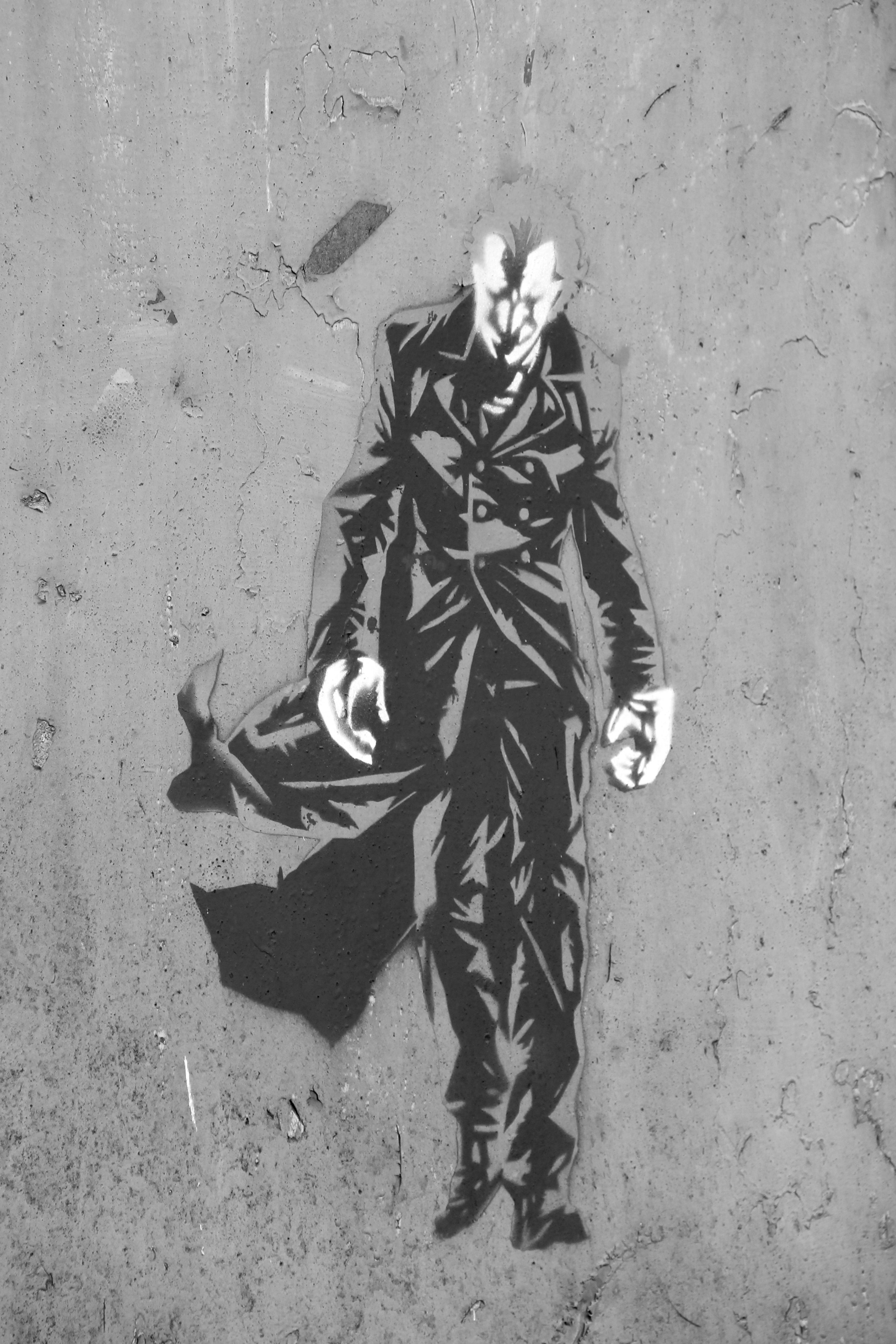Batman svart hvit