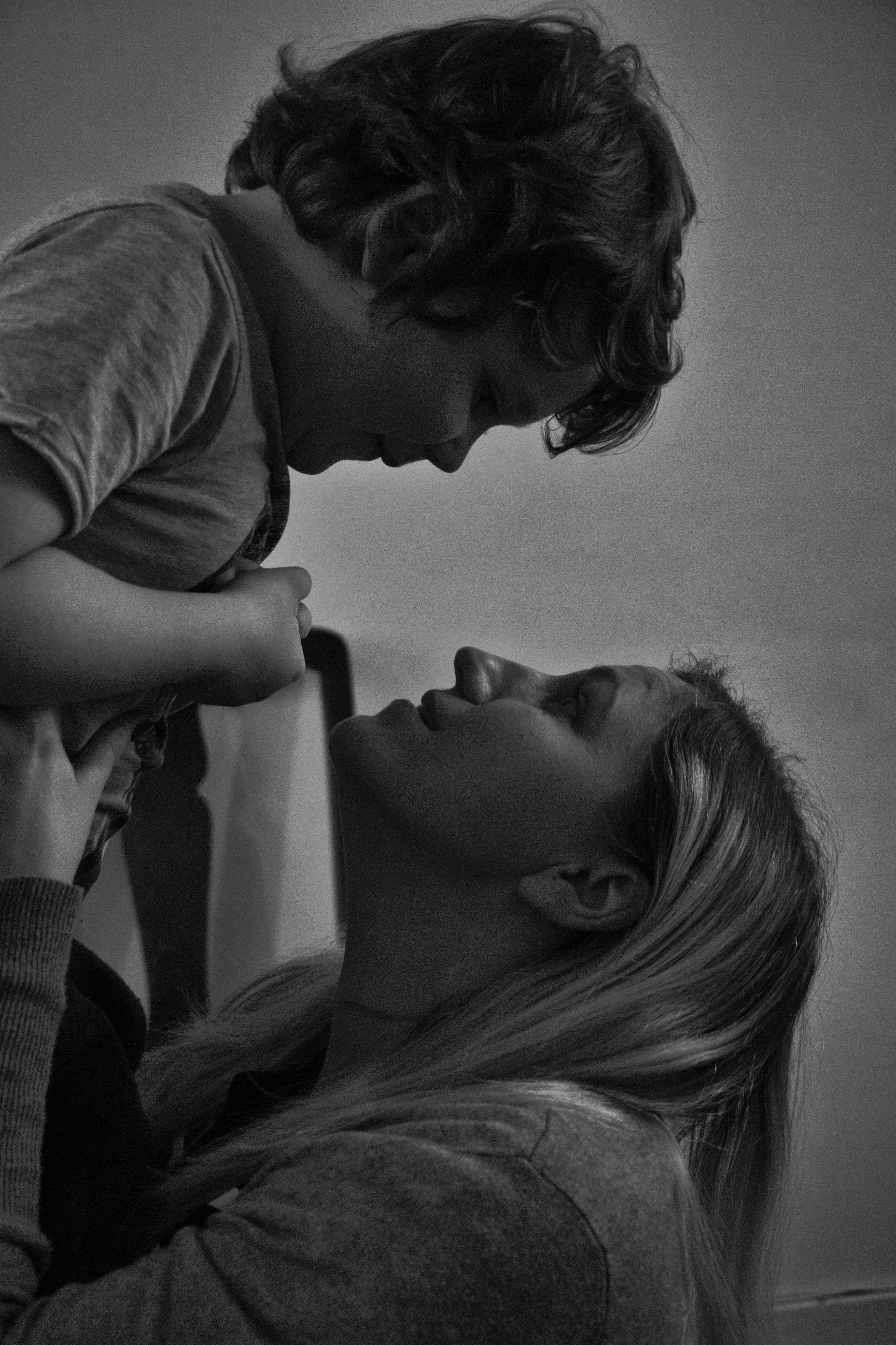 Gratis Afbeeldingen  Persoon, Zwart En Wit, Vrouw, Jongen -6968