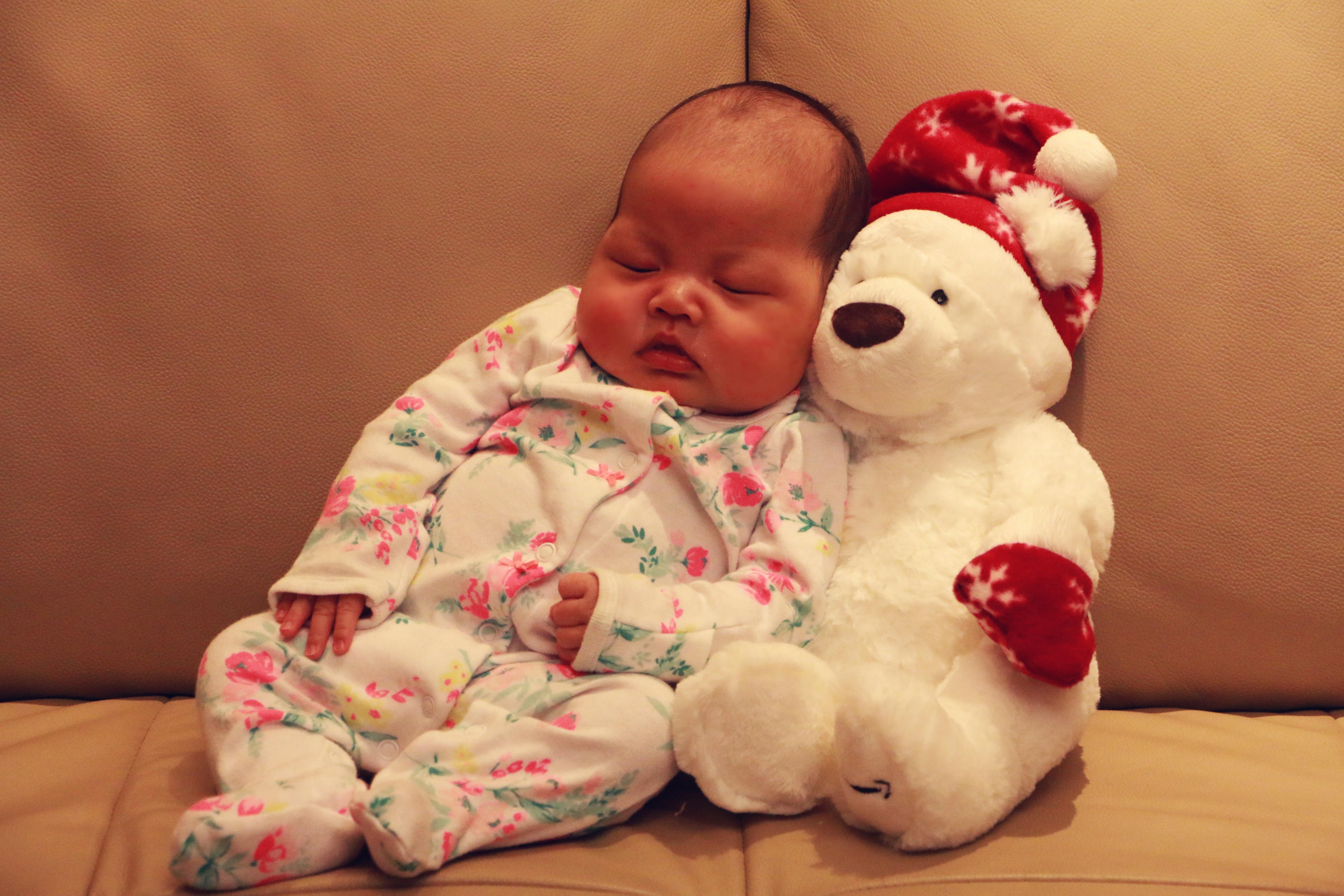 Free images person cute child clothing pink - Que regalar en un bautizo ...