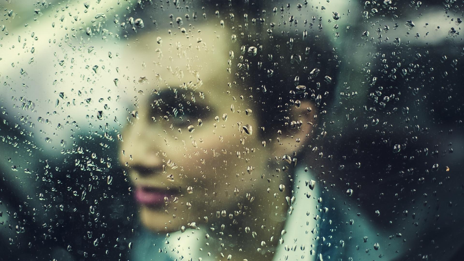 Фотографирование через мокрое стекло