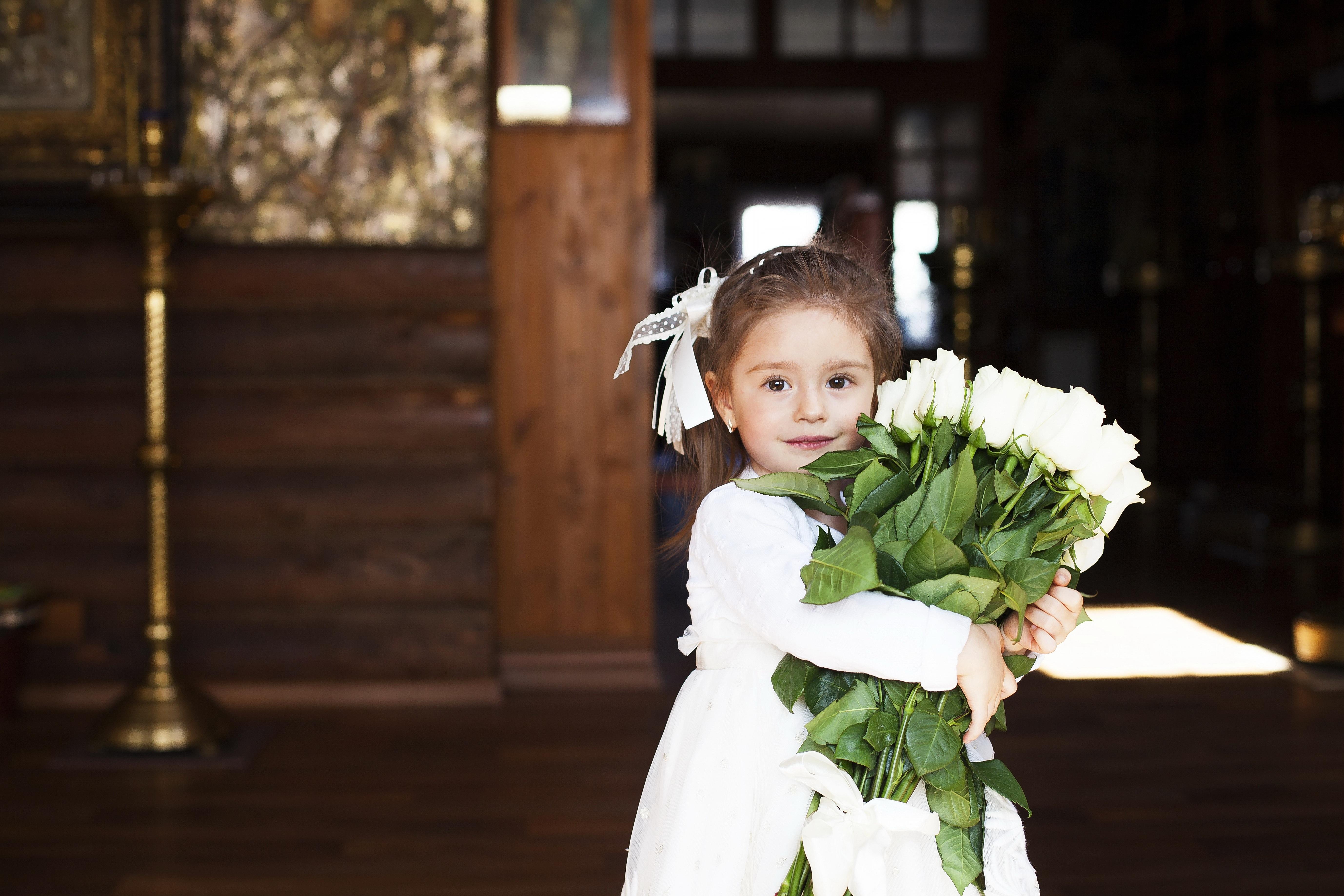 Fotos gratis : persona, niña, mujer, flor, fiesta, niño, Boda, novia ...