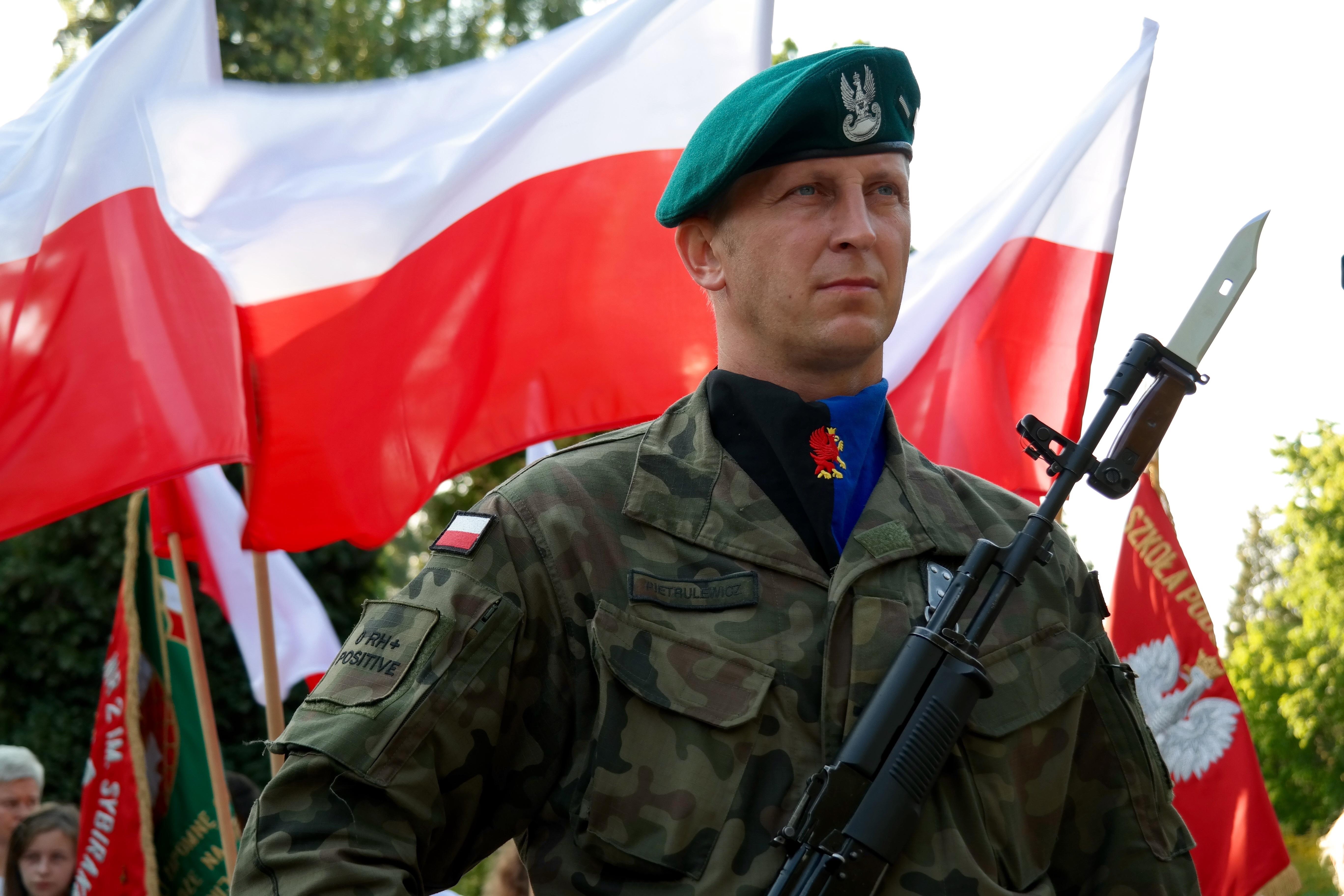 Heiße Militärsoldaten