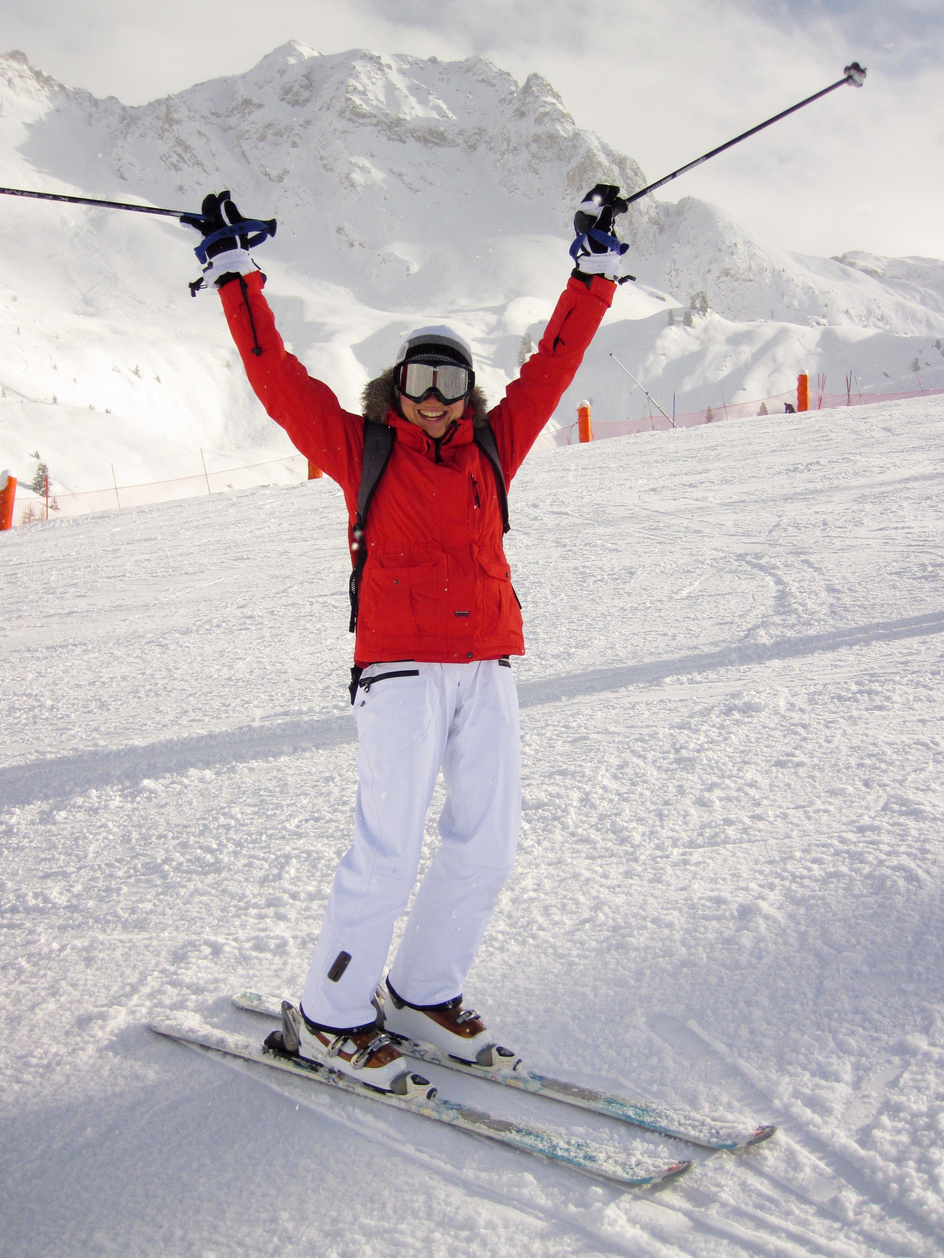 картинки с лыжницами выходе получается