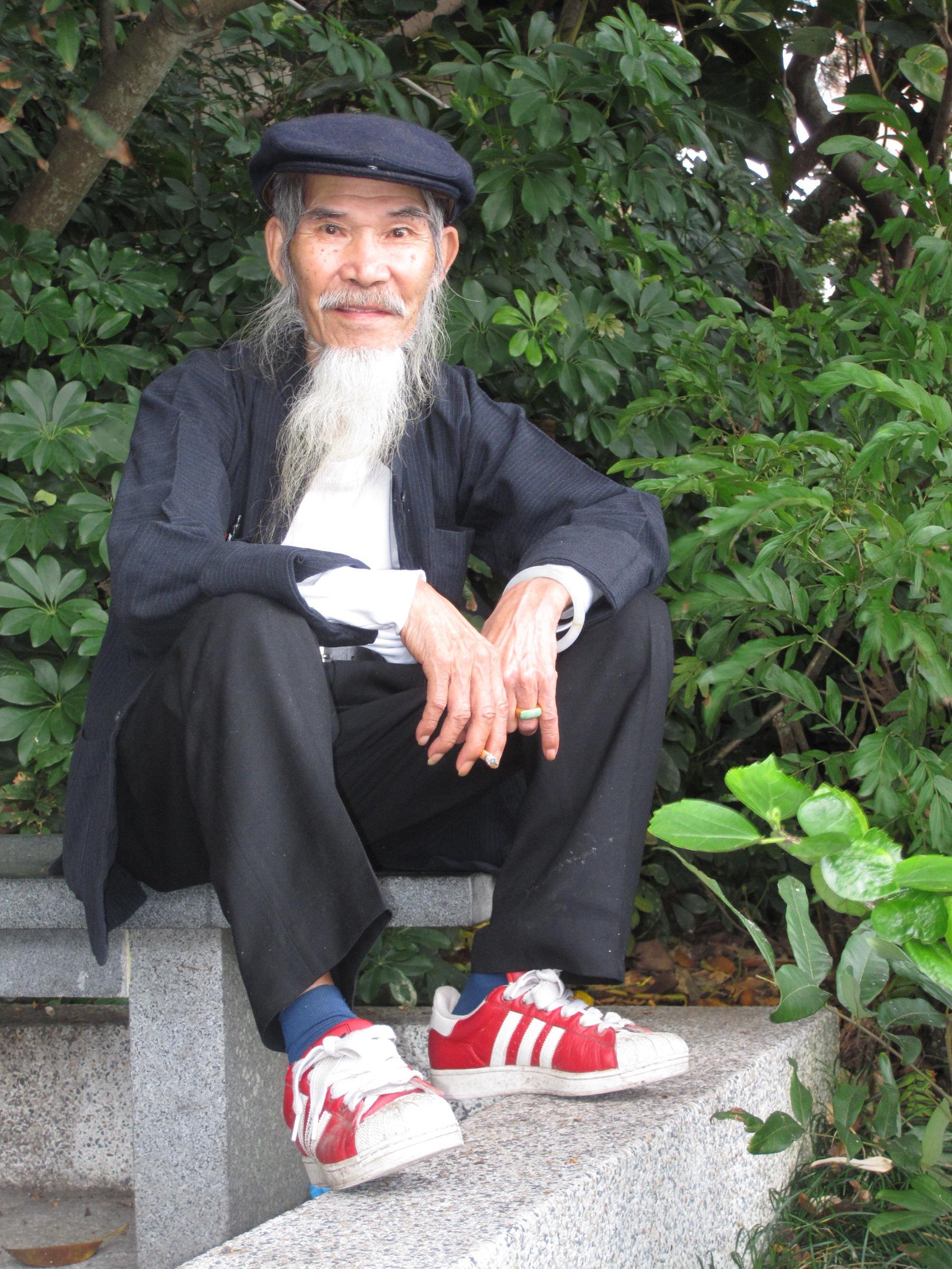 Gambar Orang Tua Jenggot Esai Cina 1944x2592 967058