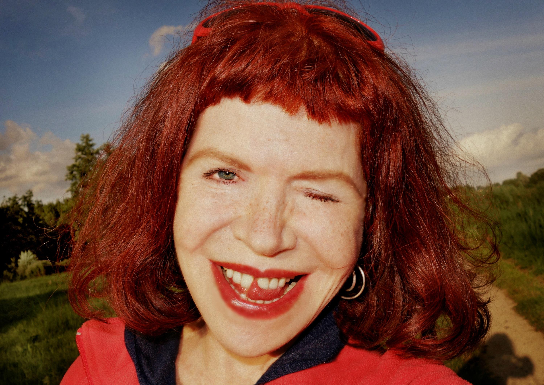 cerca Inglés cabello rojo