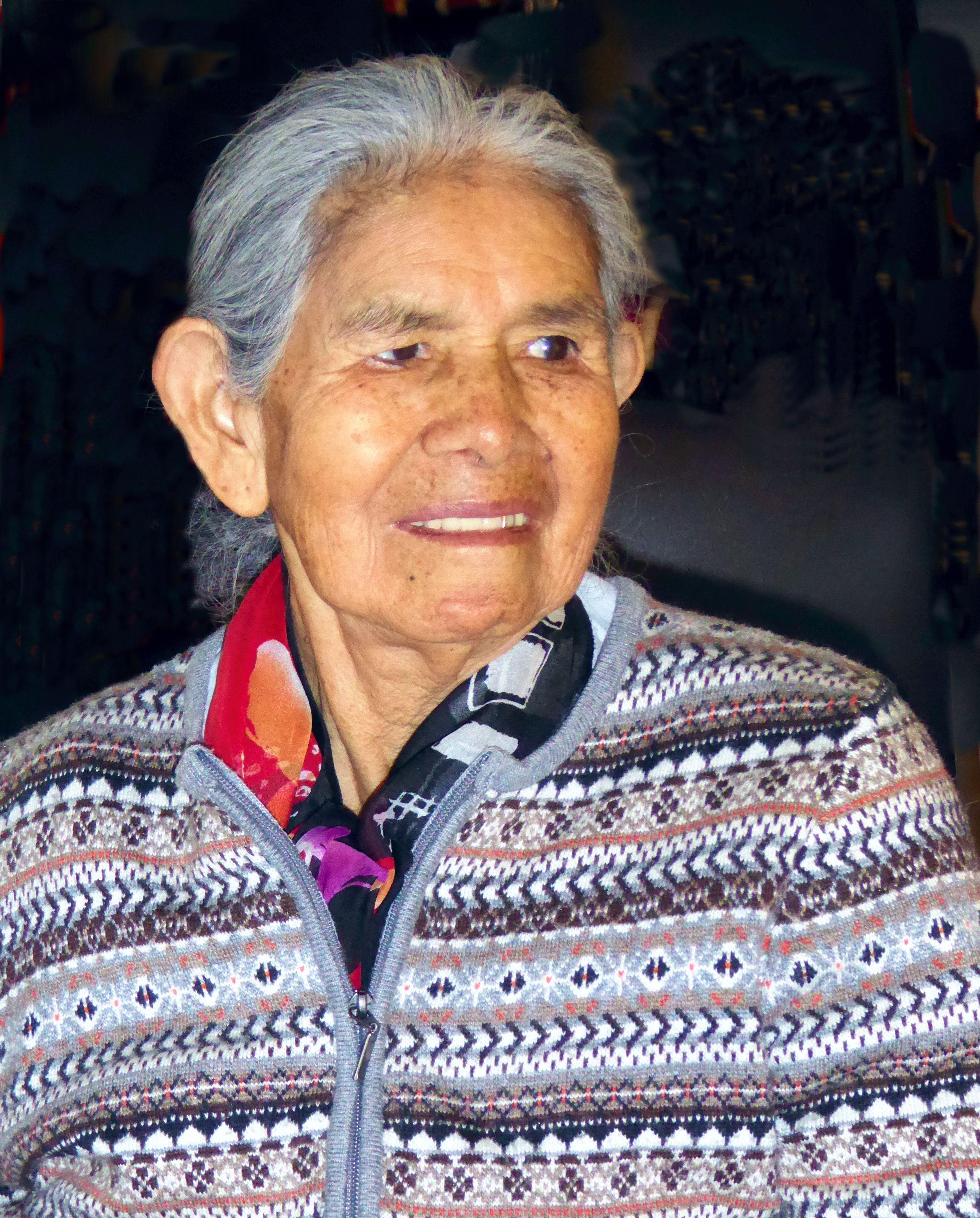 heiße peruanische Frau
