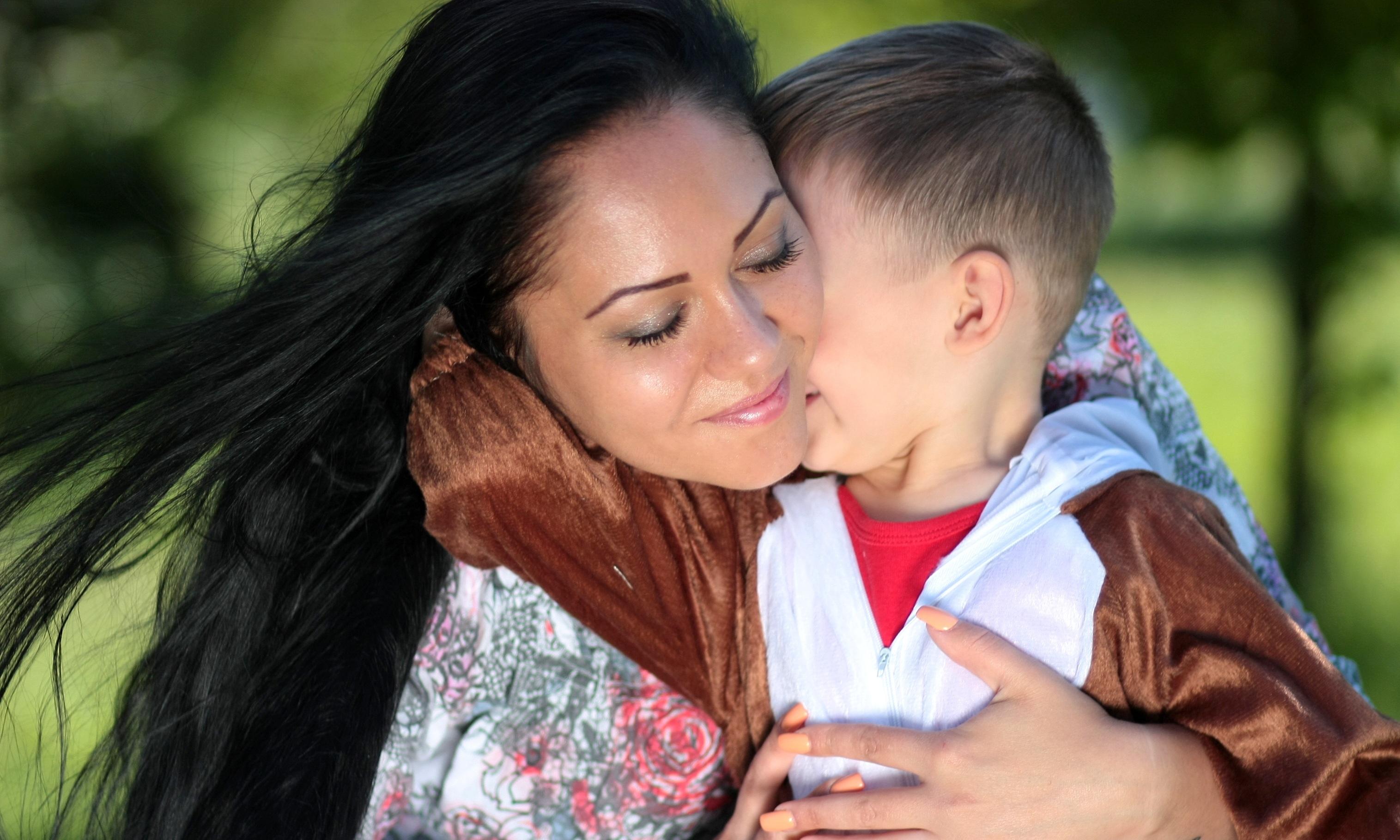 Открытка кардмейкинг, картинки мать с сыном