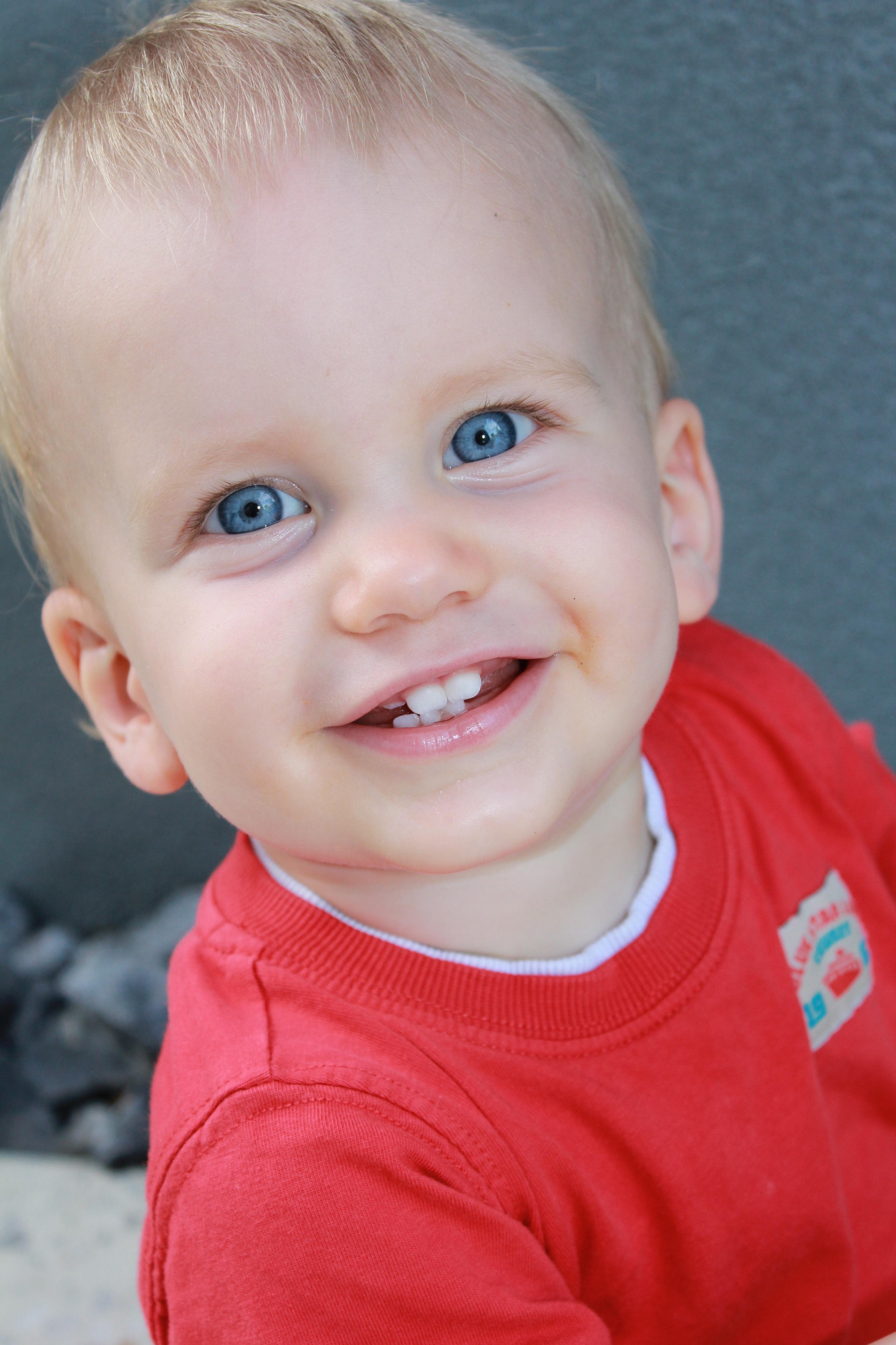 Фото ребенка в улыбке