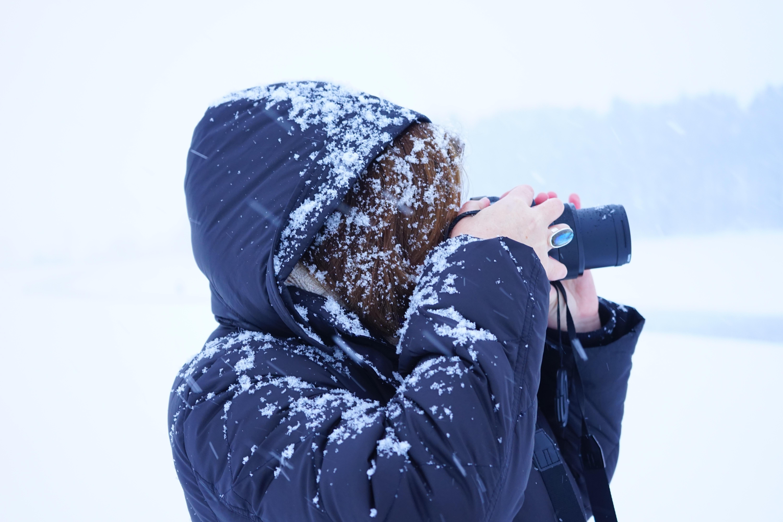 картинка зима снег человек самарской