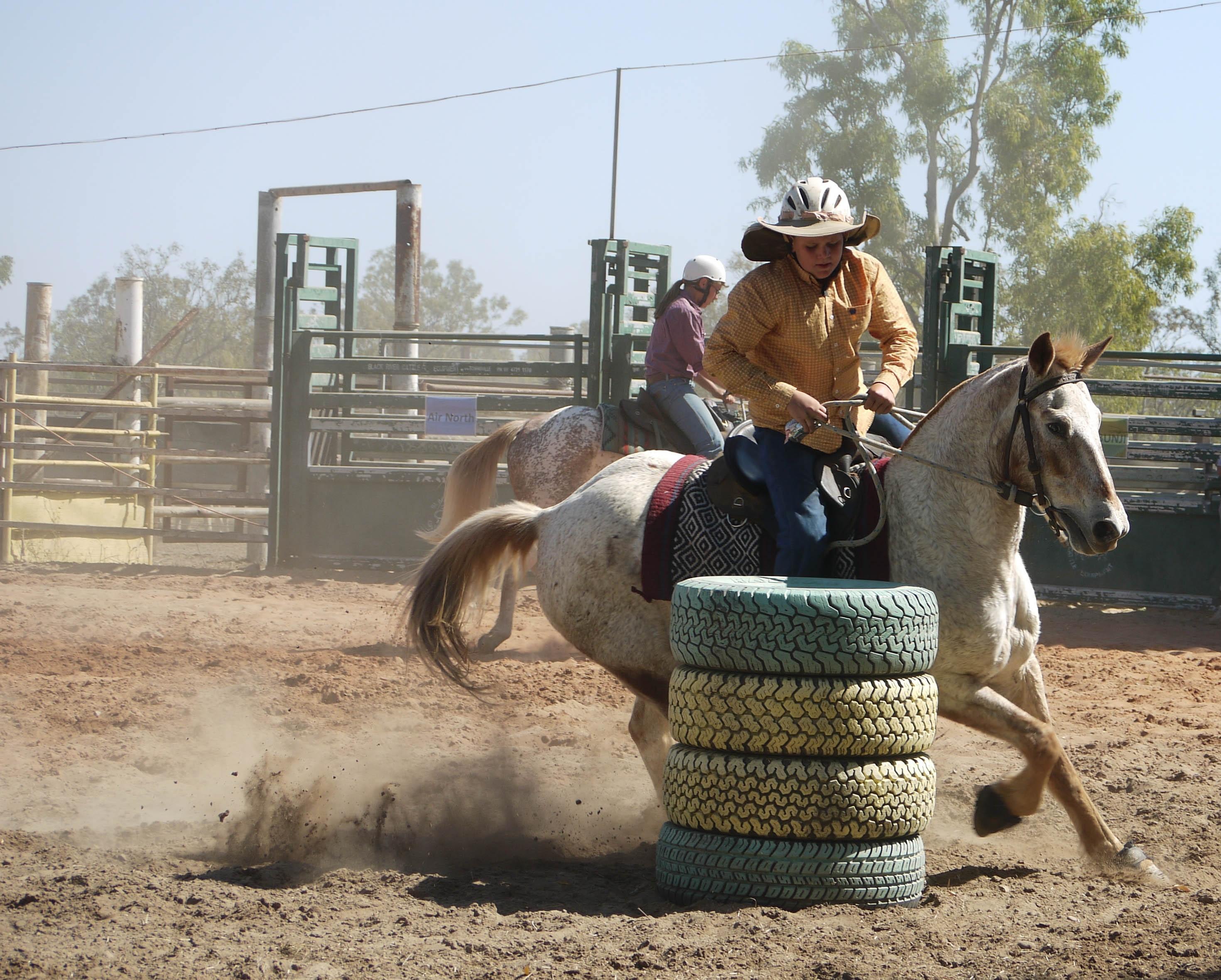 sucio equitación