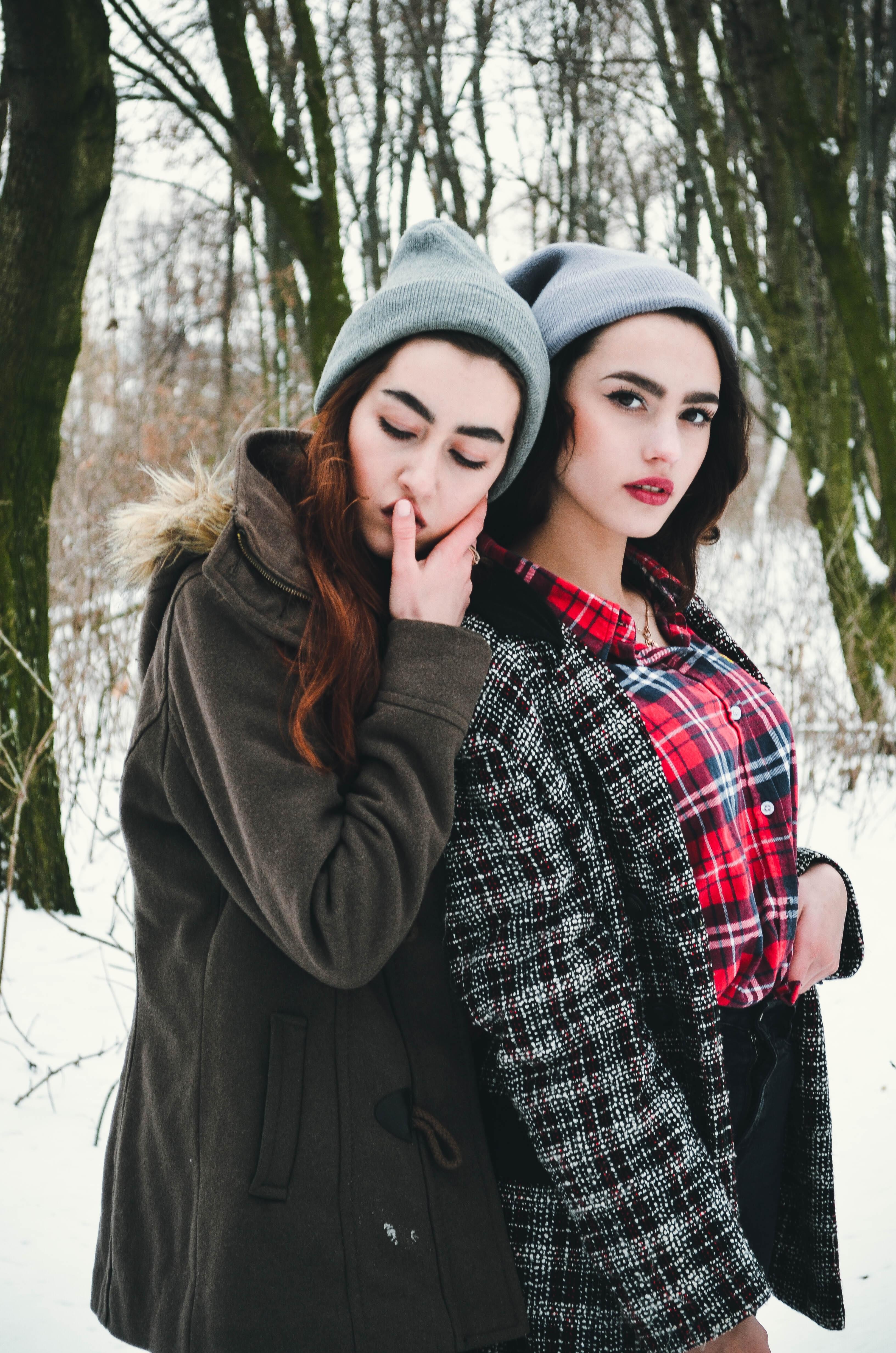 Gratis afbeeldingen persoon winter meisje vrouw fotografie uitzicht vacht patroon - Dressing modellen ...