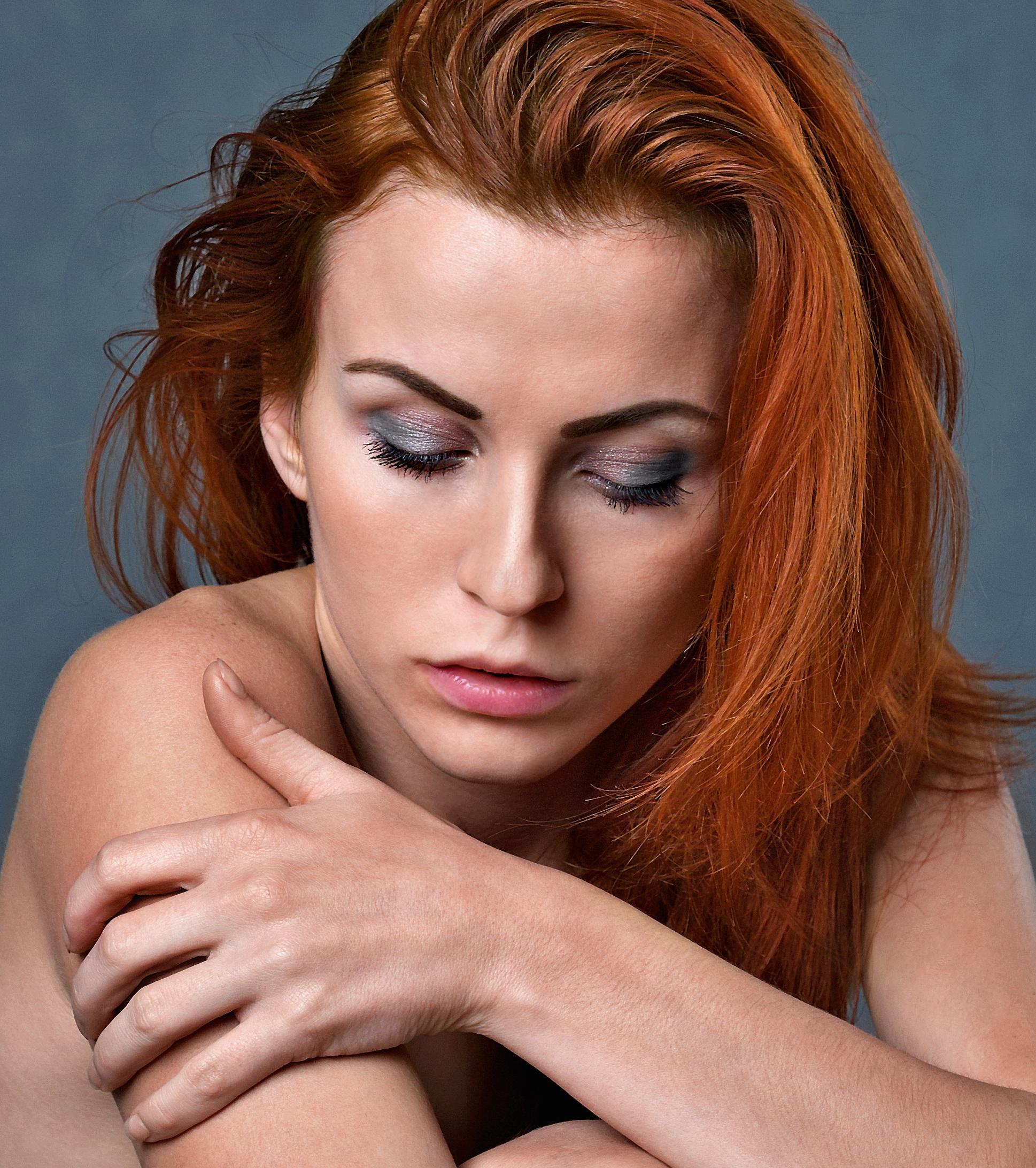 Kostenlose foto Person Frau Porträt Modell Mode Frisur