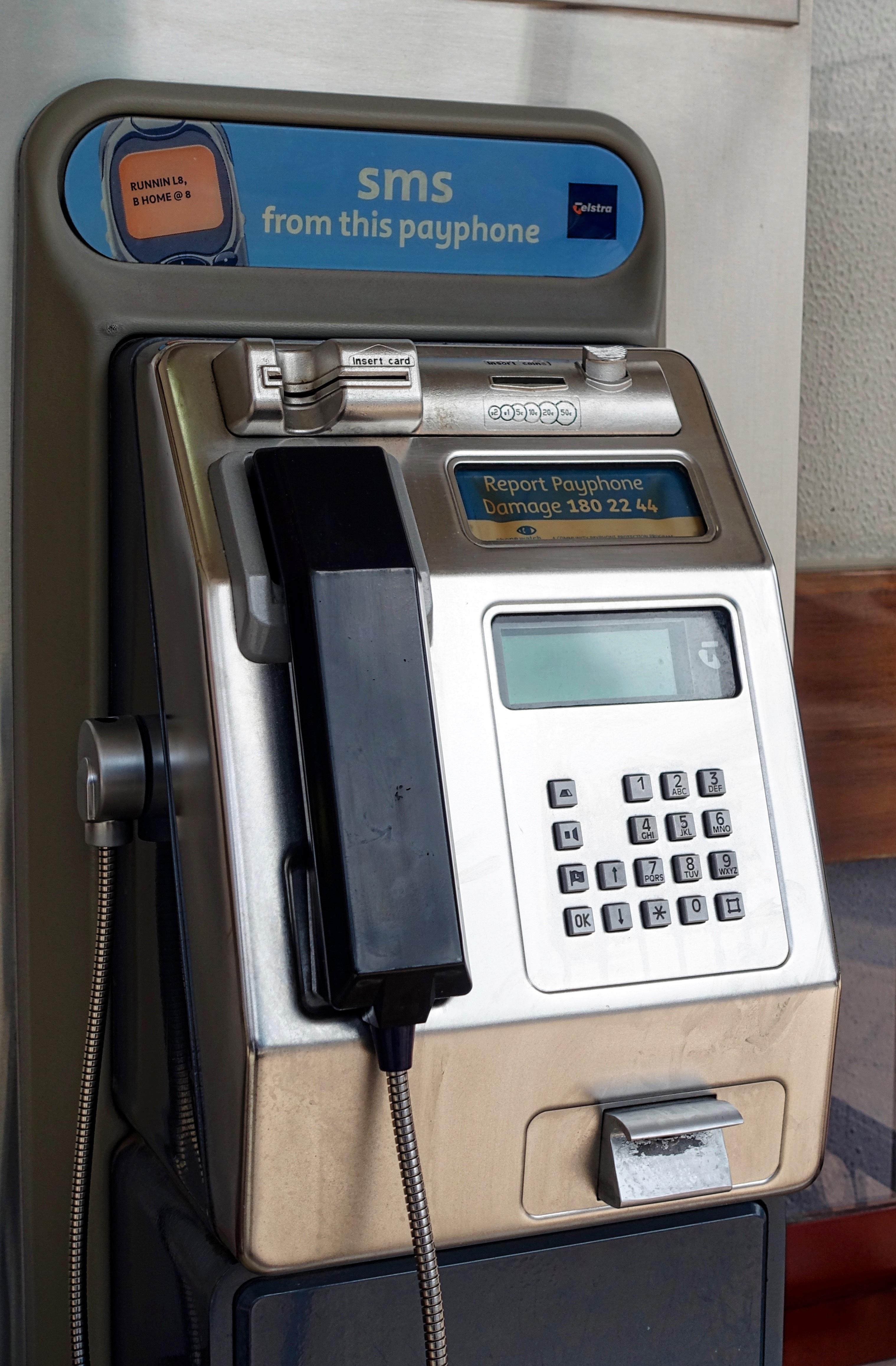 Free Images : phone, money, telephone, machine, cash, communications
