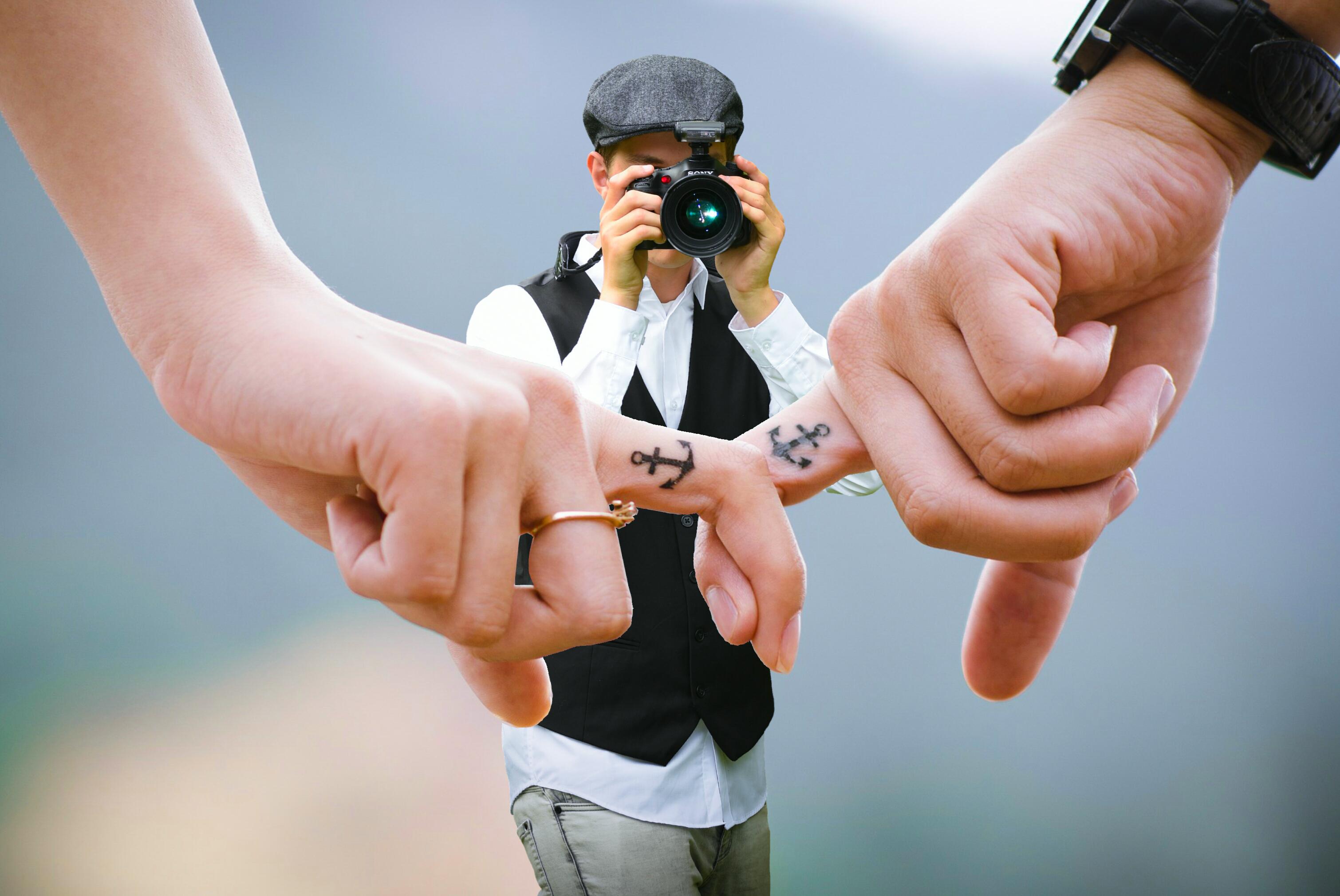 Darmowe Zdjęcia Fotograf Ręce Miłość Para Razem Palce