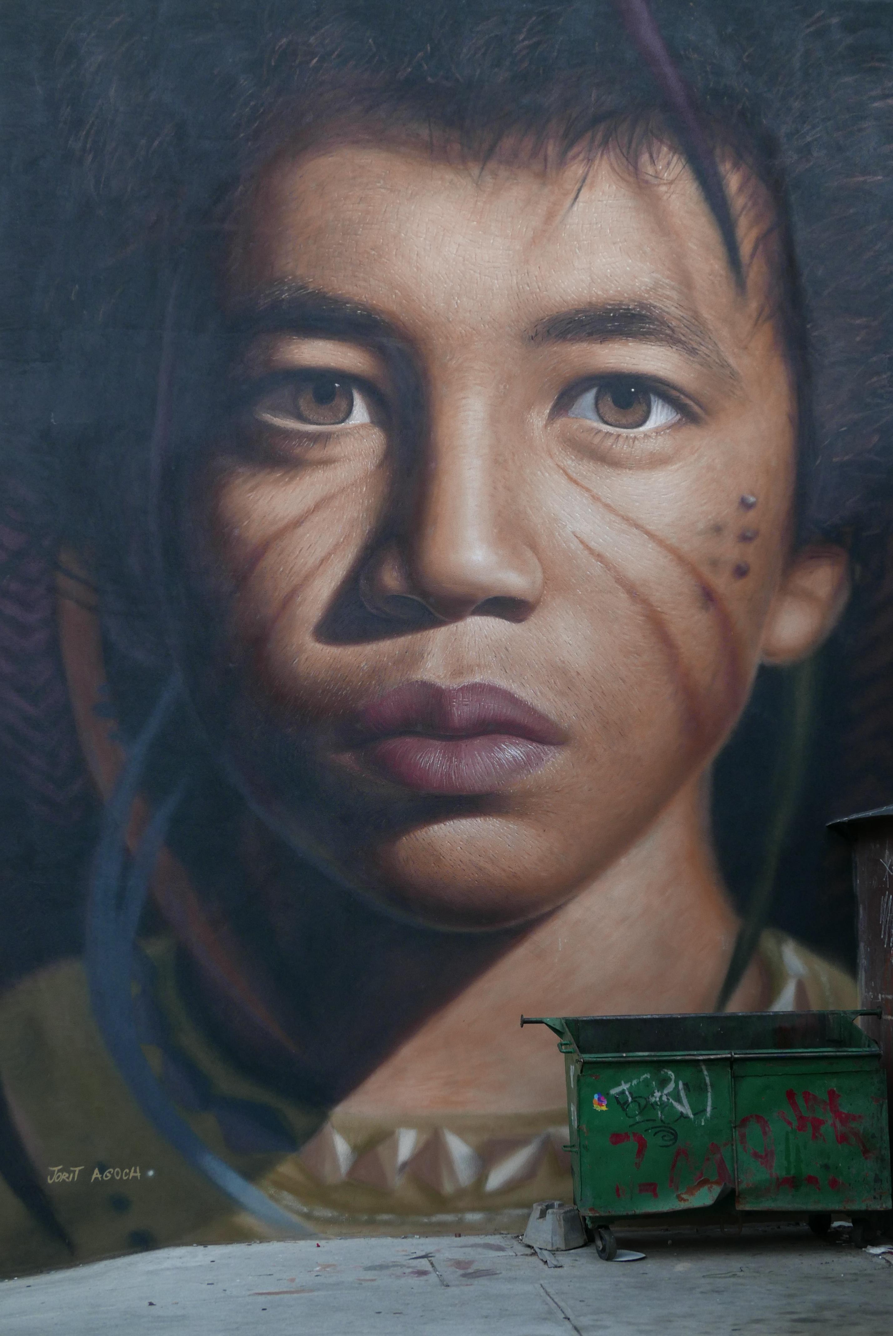 Fotograf Fotografcilik Erkek Portre Renk Boyama Yuz Sanat