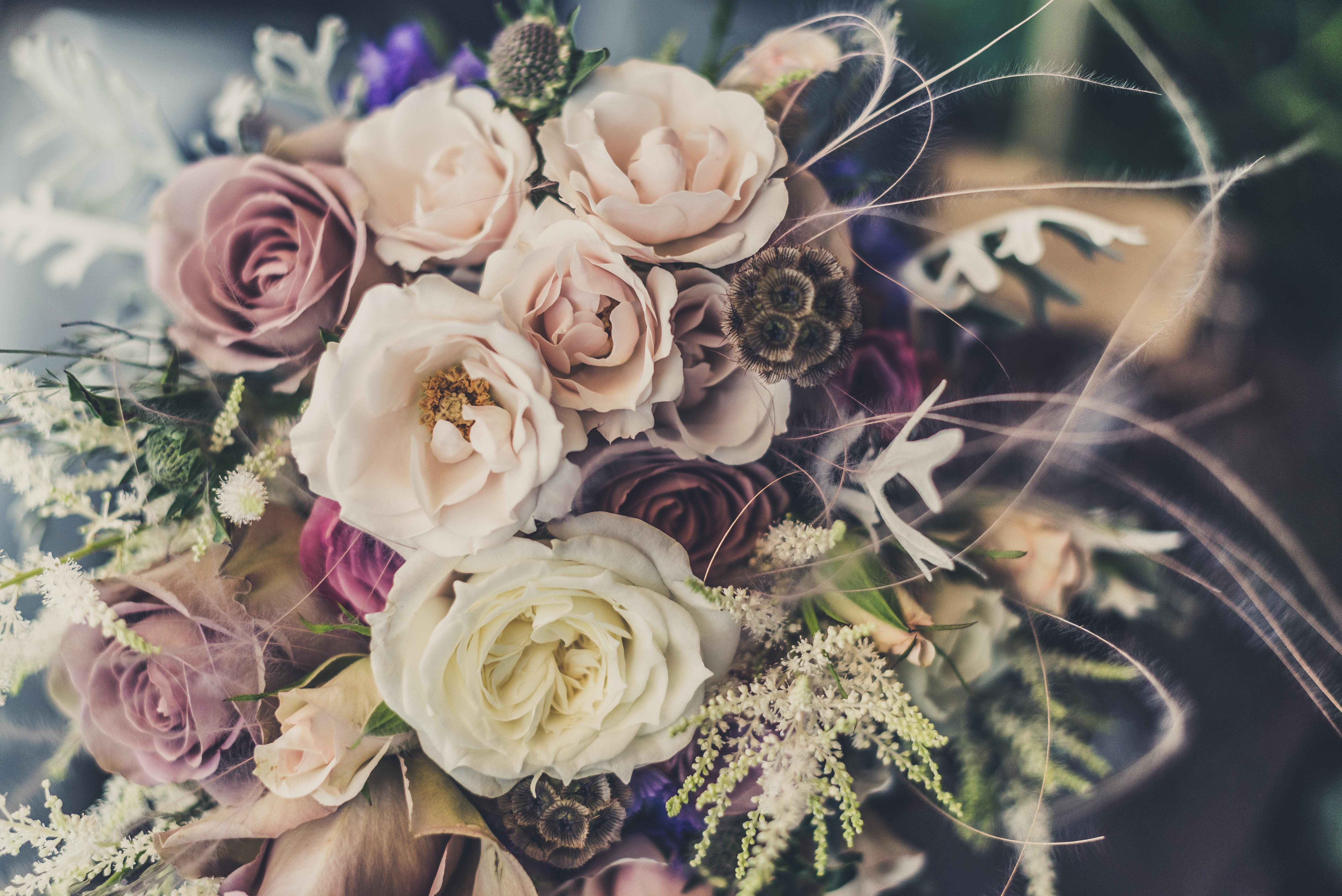 открытка розы стильный букет больше