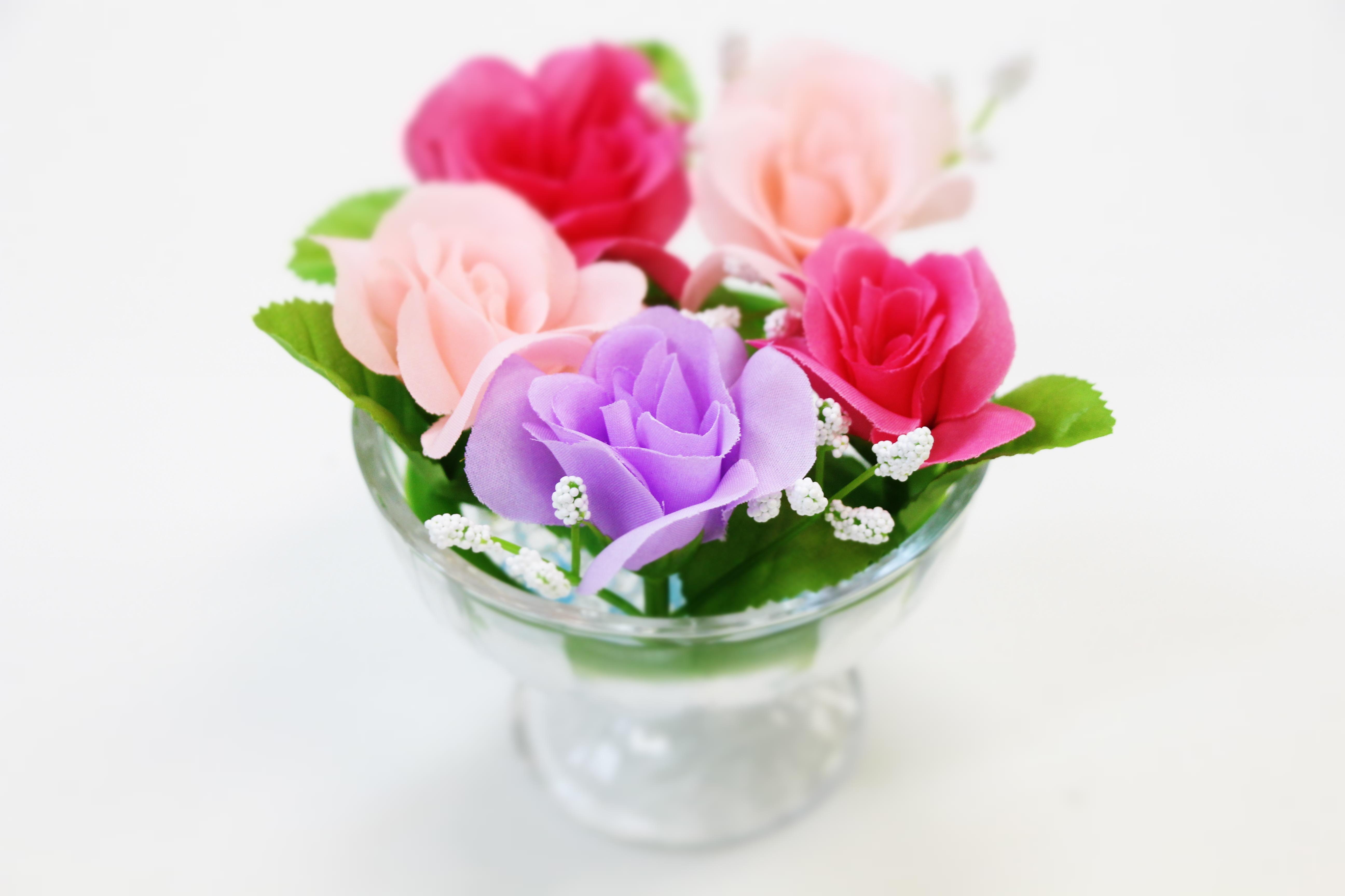 images gratuites violet p tale rouge rose pot de fleur fleuriste fleurs artificielles. Black Bedroom Furniture Sets. Home Design Ideas