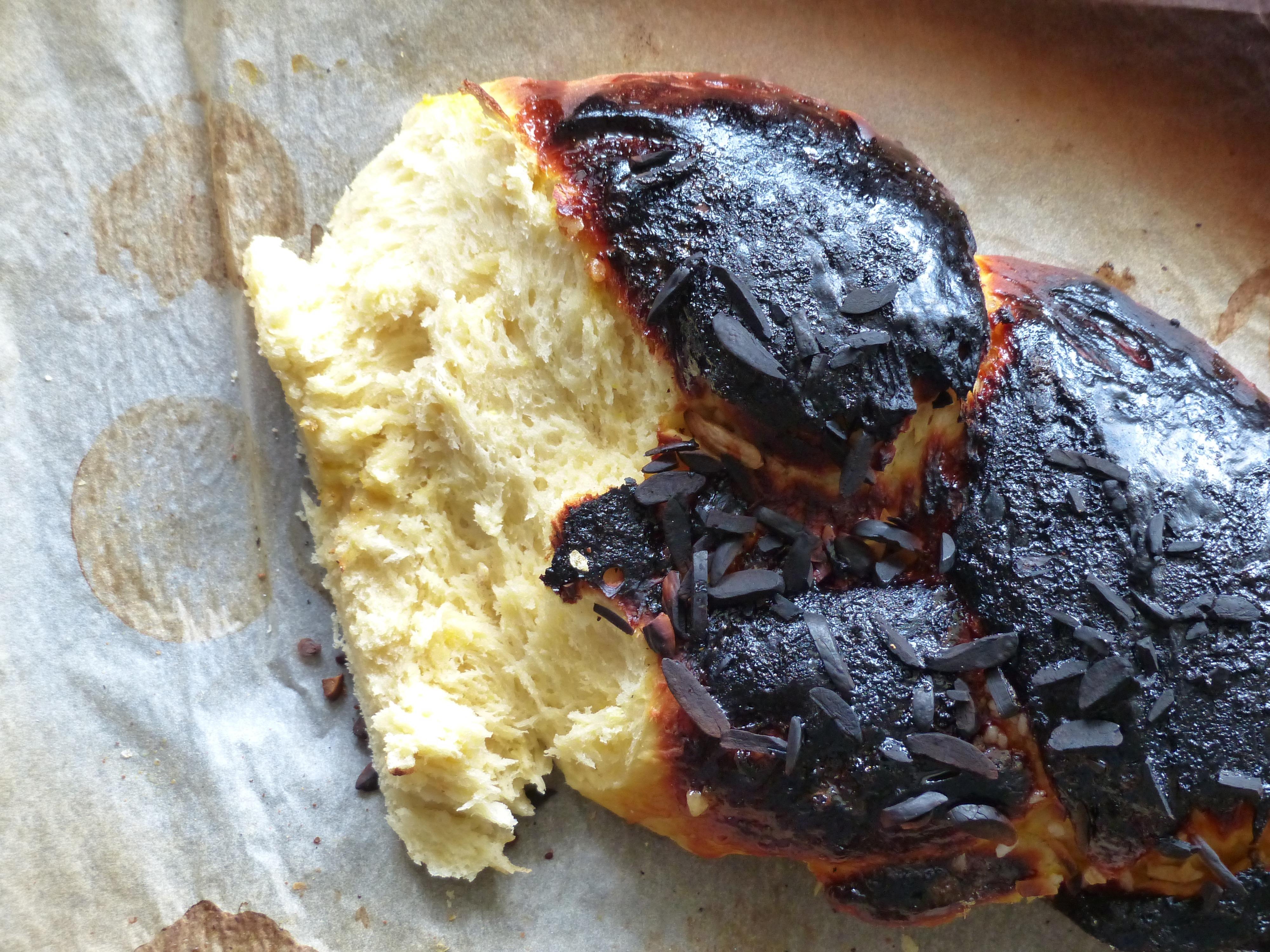 Boulangerie gateau noir