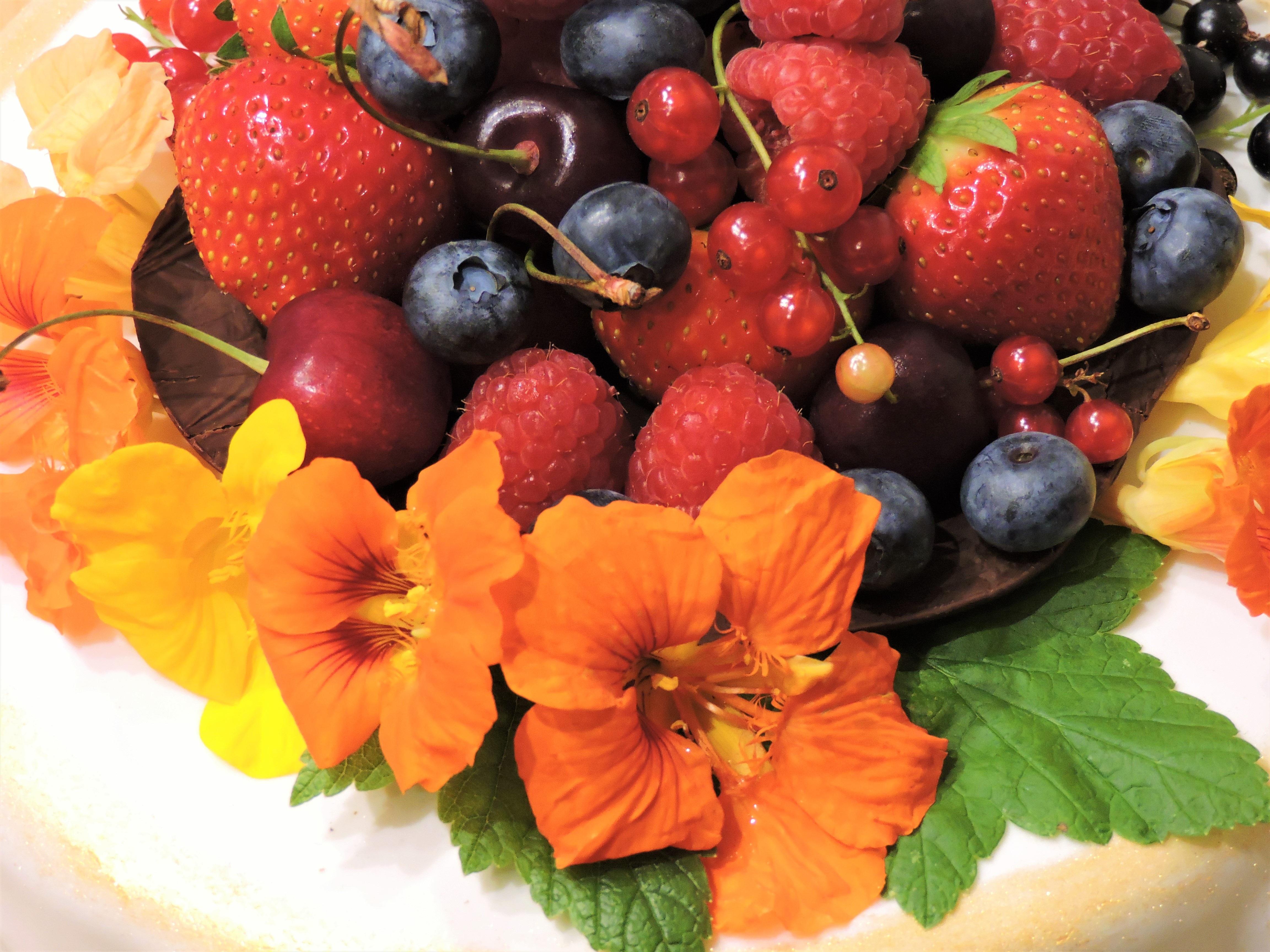 Новый, картинки цветов и фруктов ягод