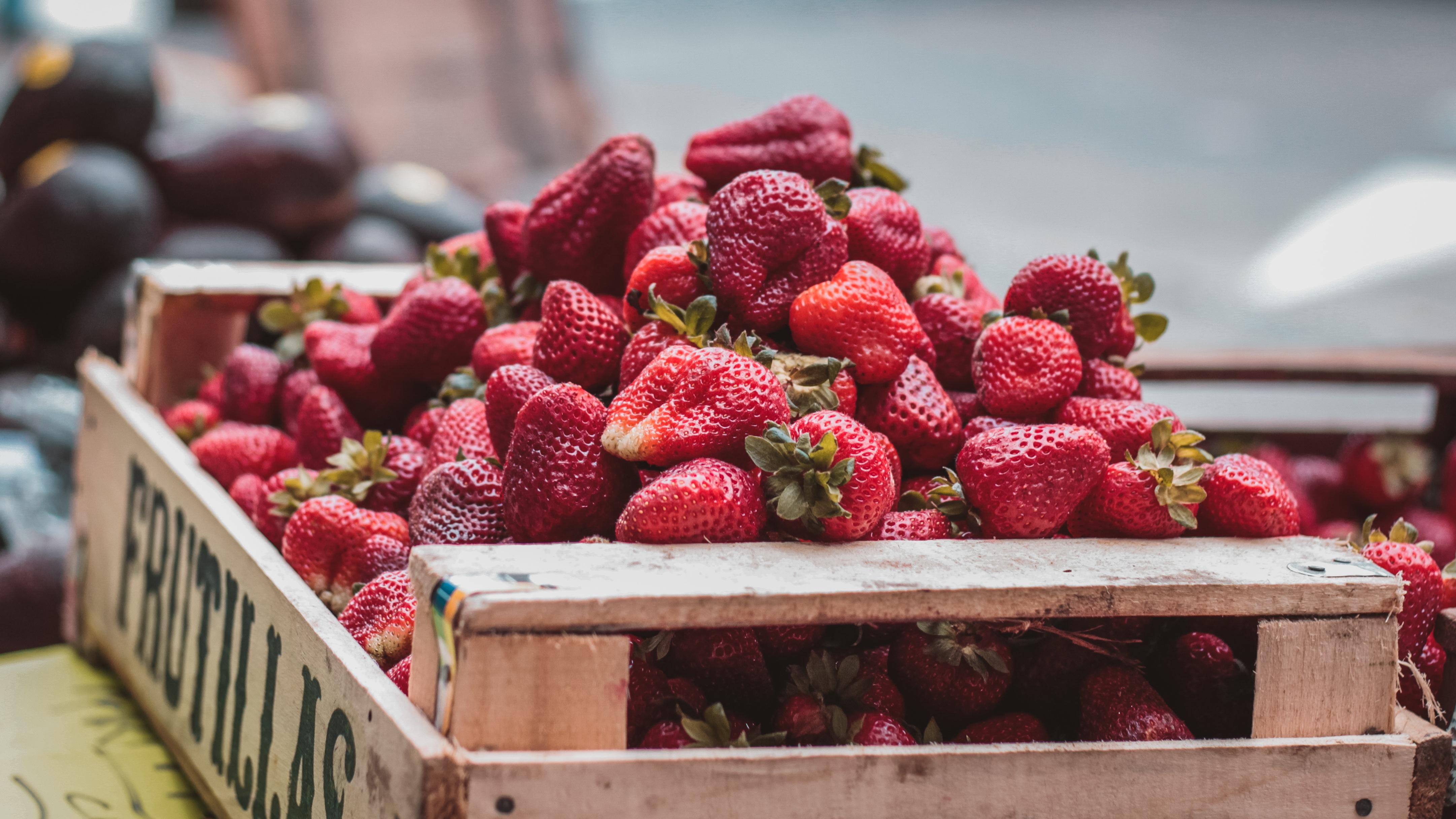 клубника корзина strawberry basket бесплатно