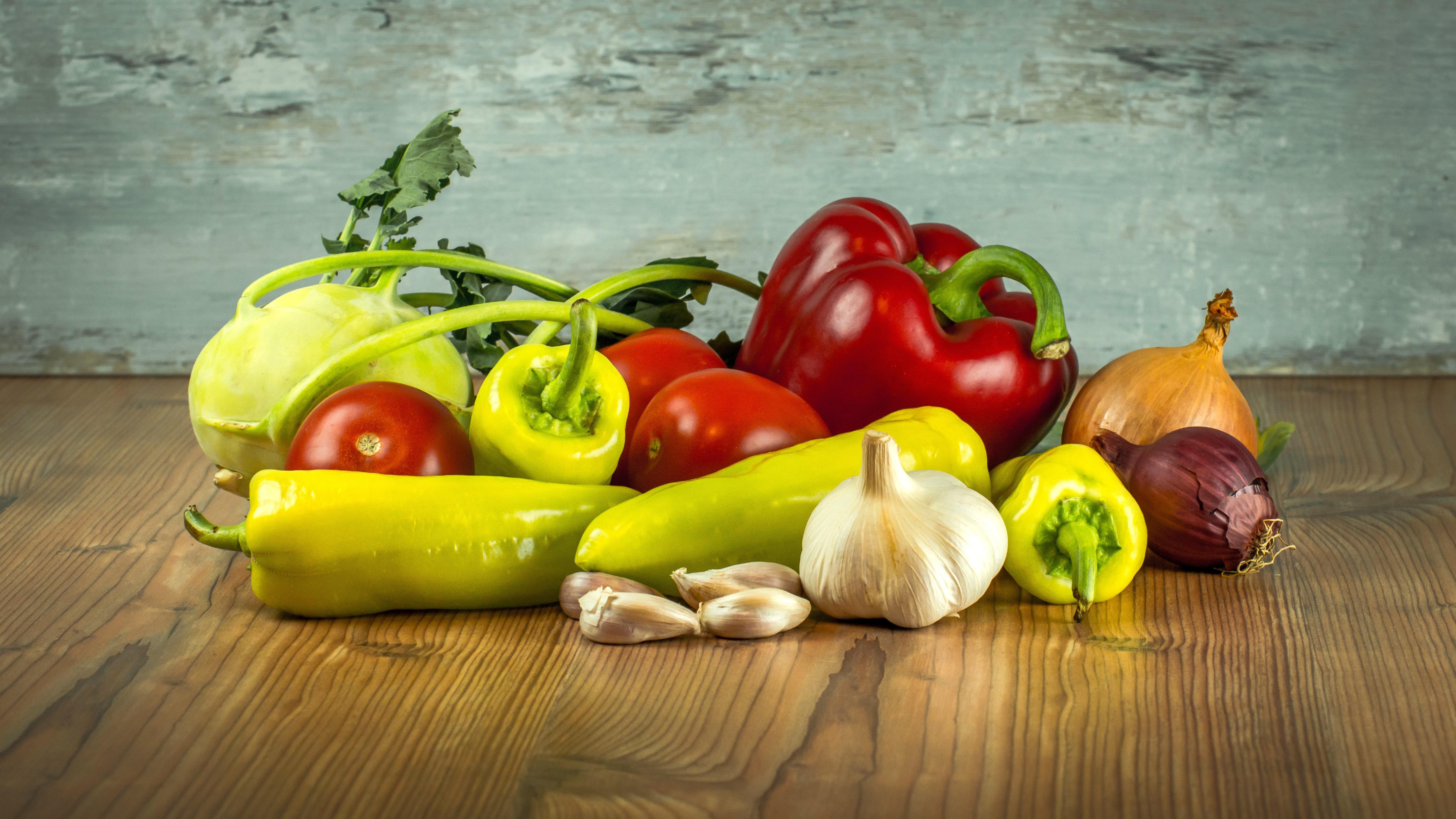 Fotoğraf Meyve Gıda Sarımsak üretmek Sebze Büyümek Otlak