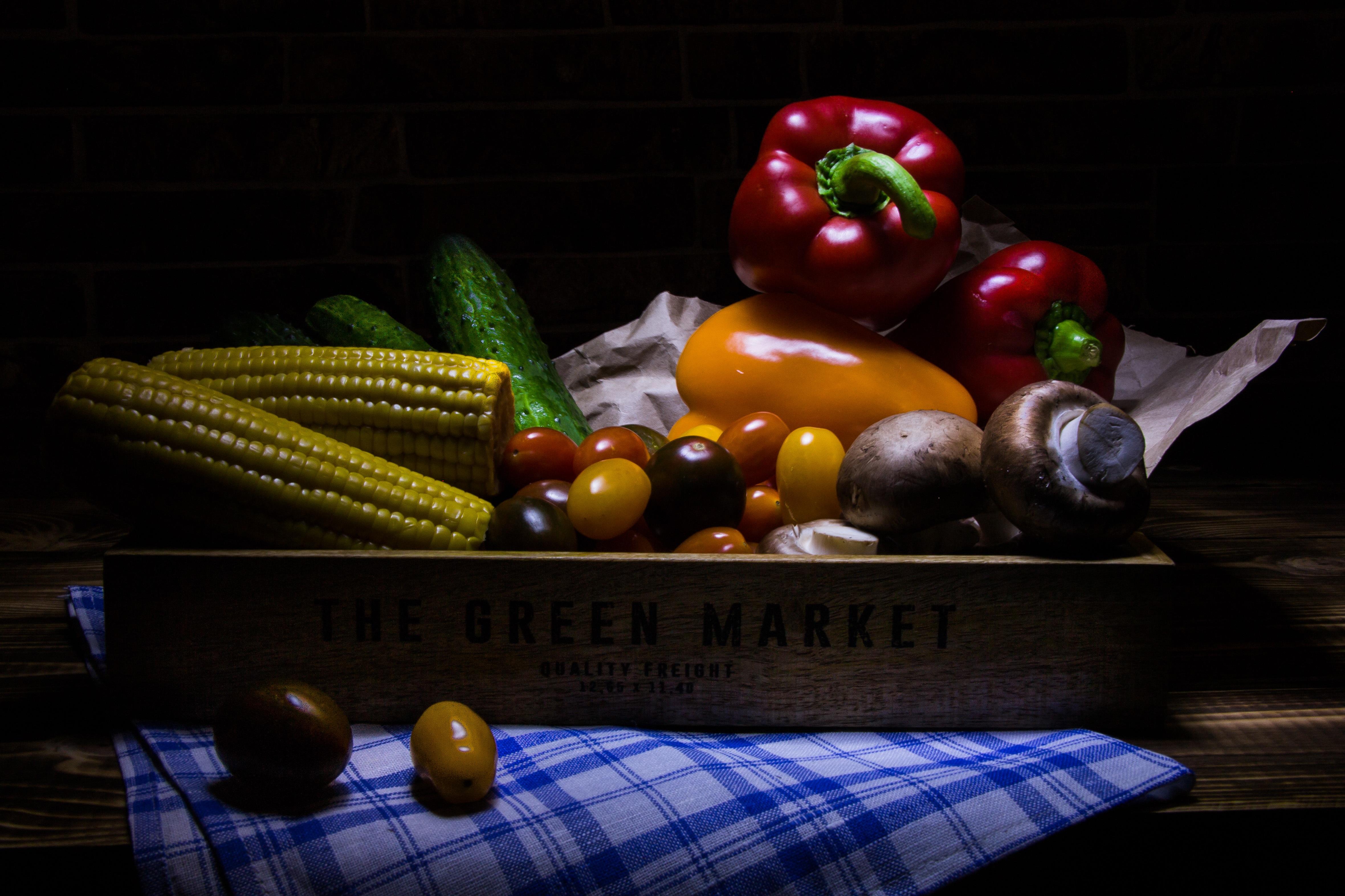 Fotoğraf Meyve Gıda Biber Hasat üretmek Mısır Boyama