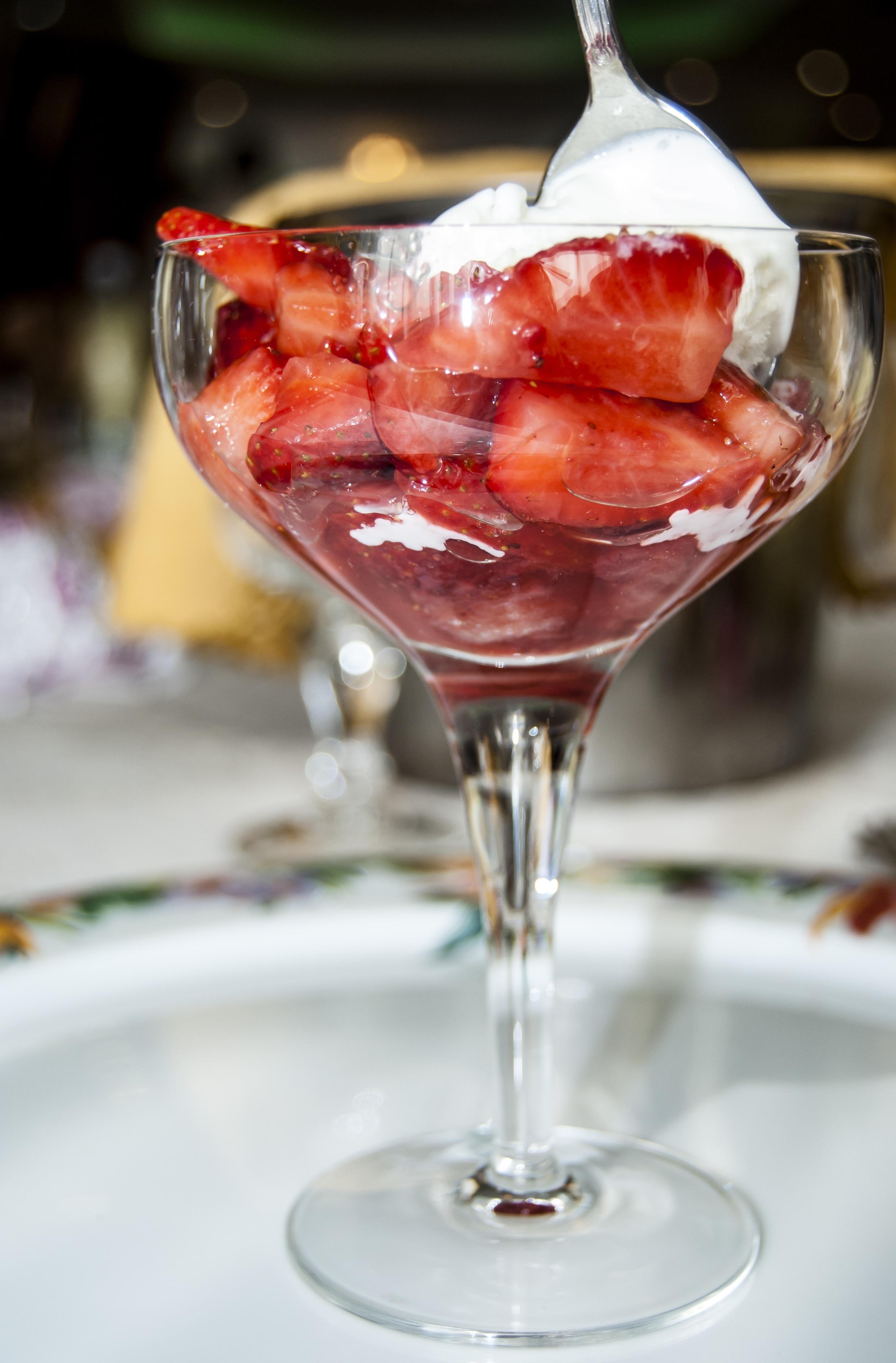 Dondurmalı Meyve Kokteyli