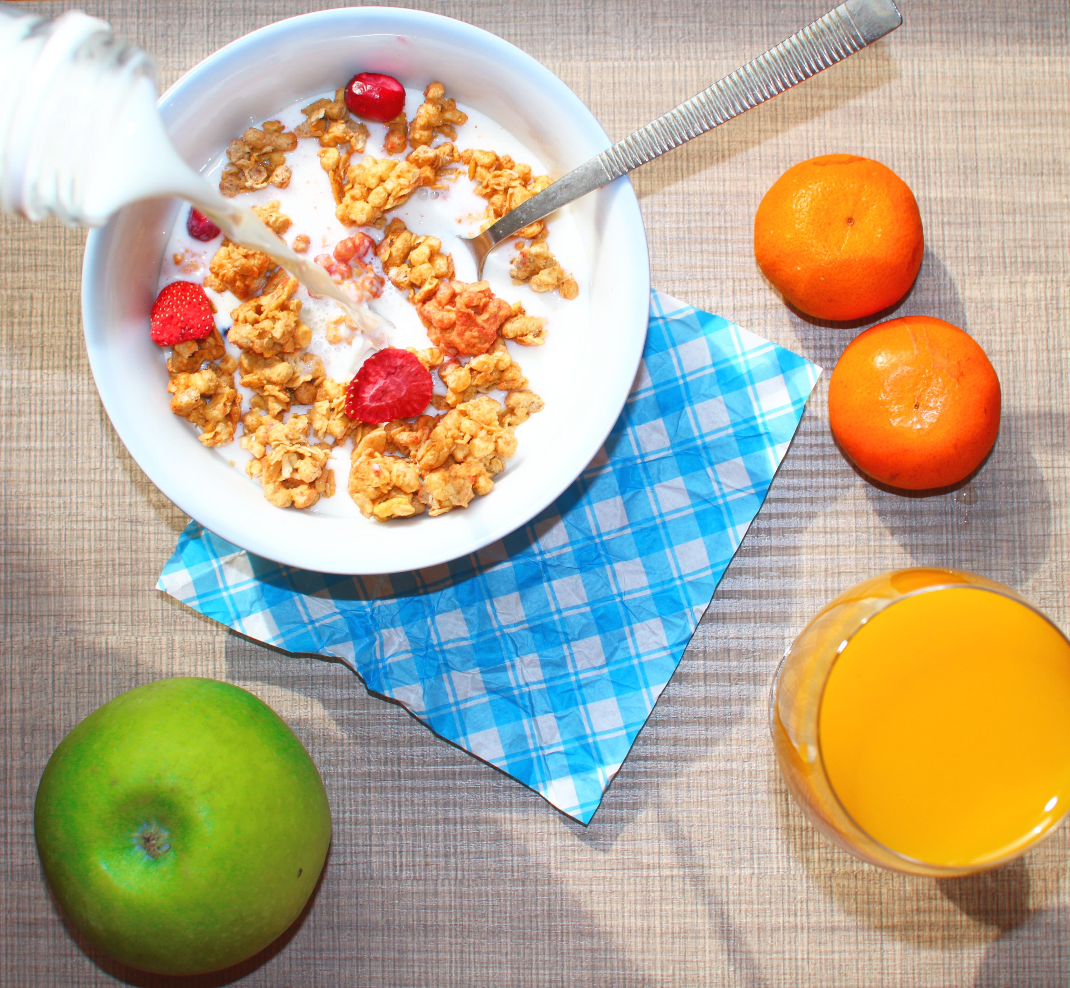 Fotos Gratis : Fruta, Naranja, Plato, Produce, Leche