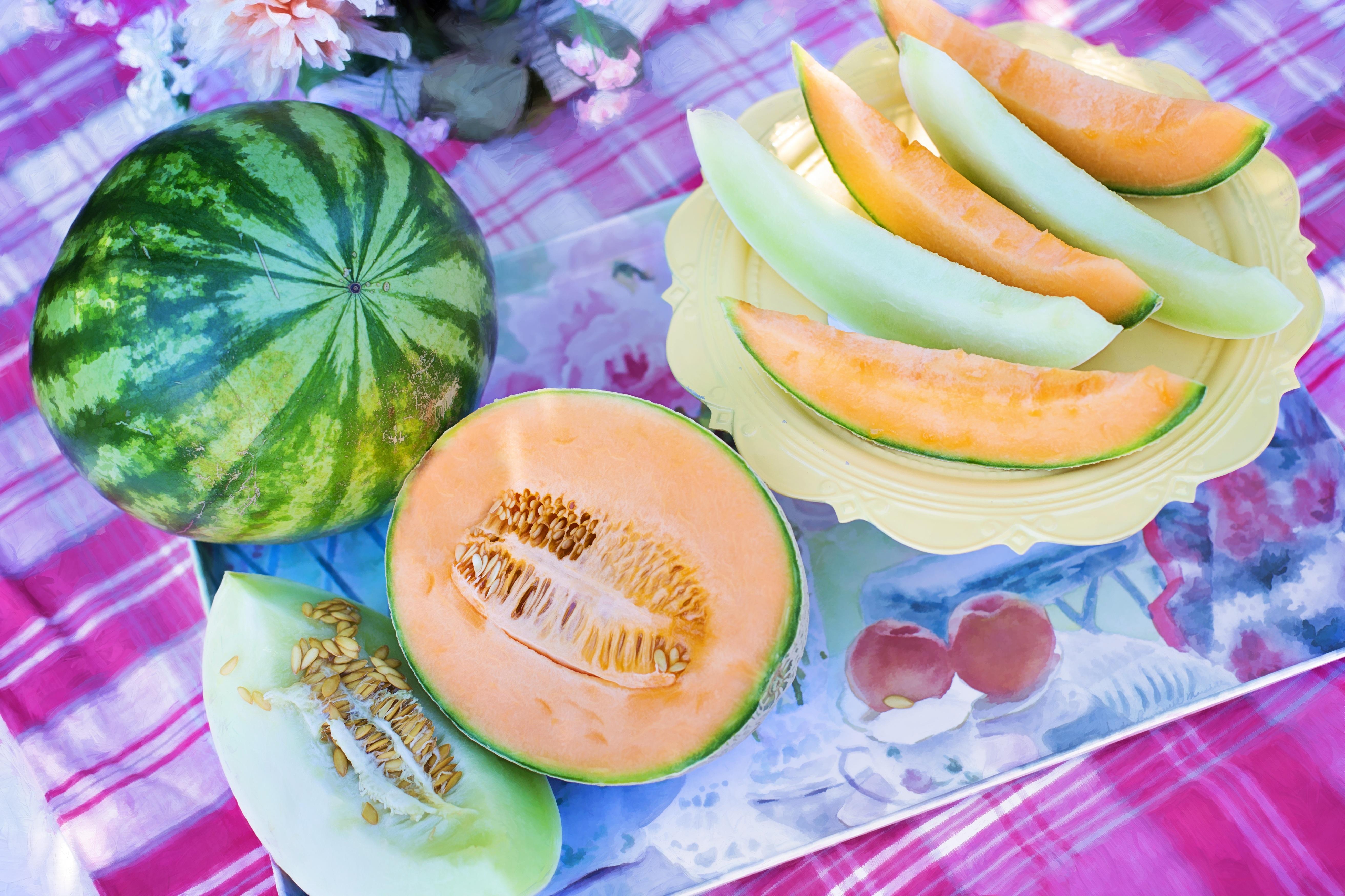 images gratuites : fruit, doux, été, plat, repas, aliments, produire