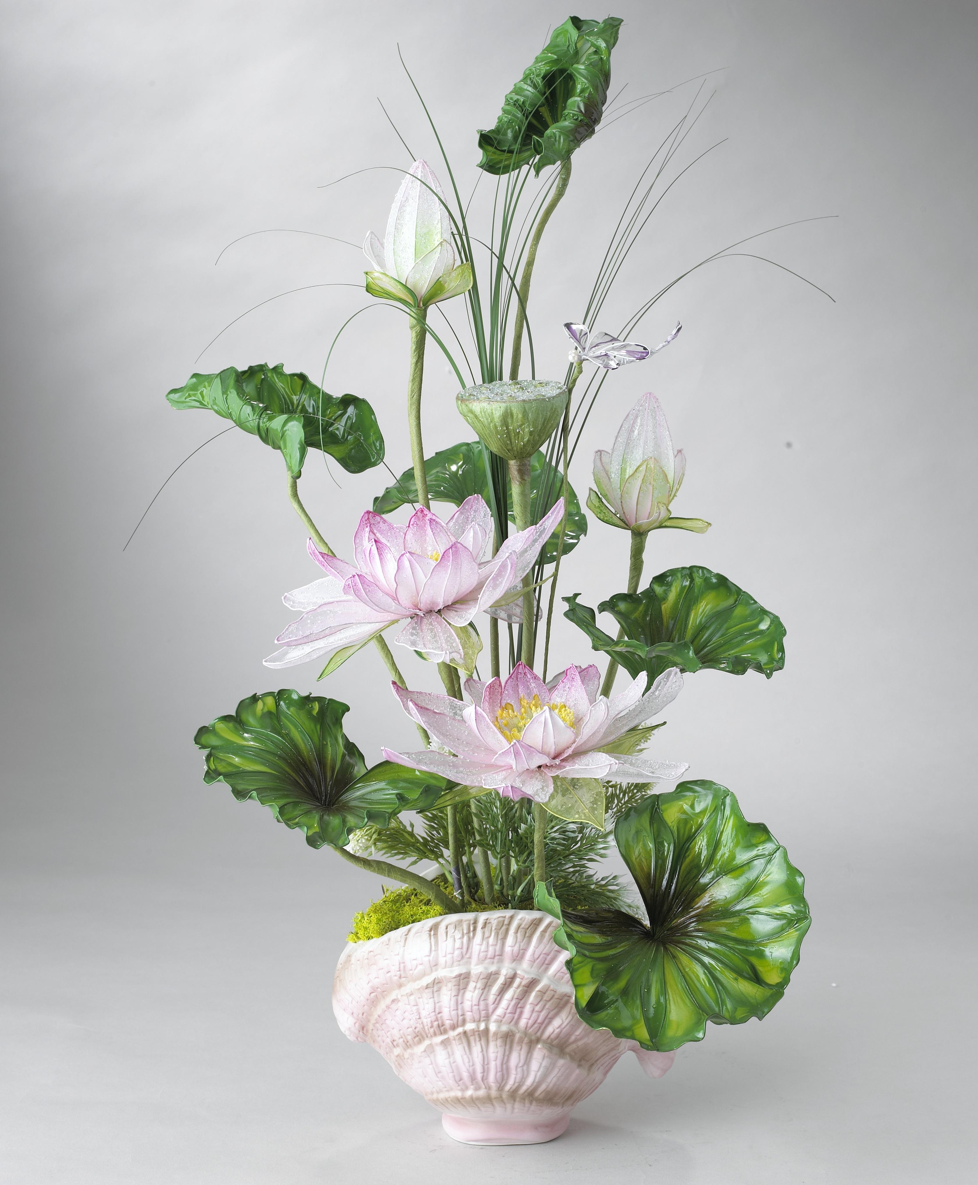 Fotograf Plastik Buket Vazo Dekorasyon Bitki Ortusu