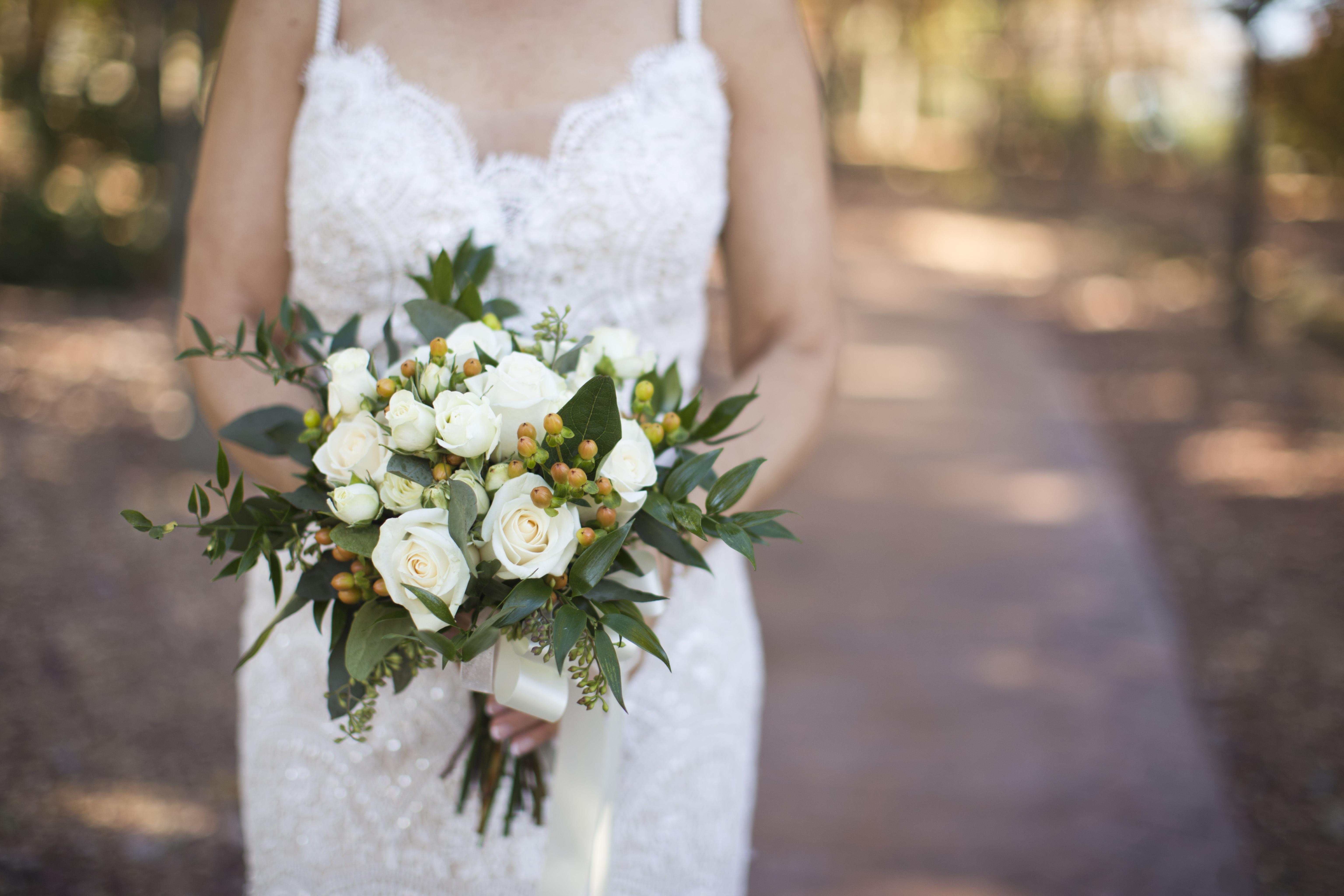 Free images plant white wedding dress bride groom marriage plant white flower floral bouquet wedding wedding dress bride groom marriage flowers arrangement aisle ceremony photograph mightylinksfo