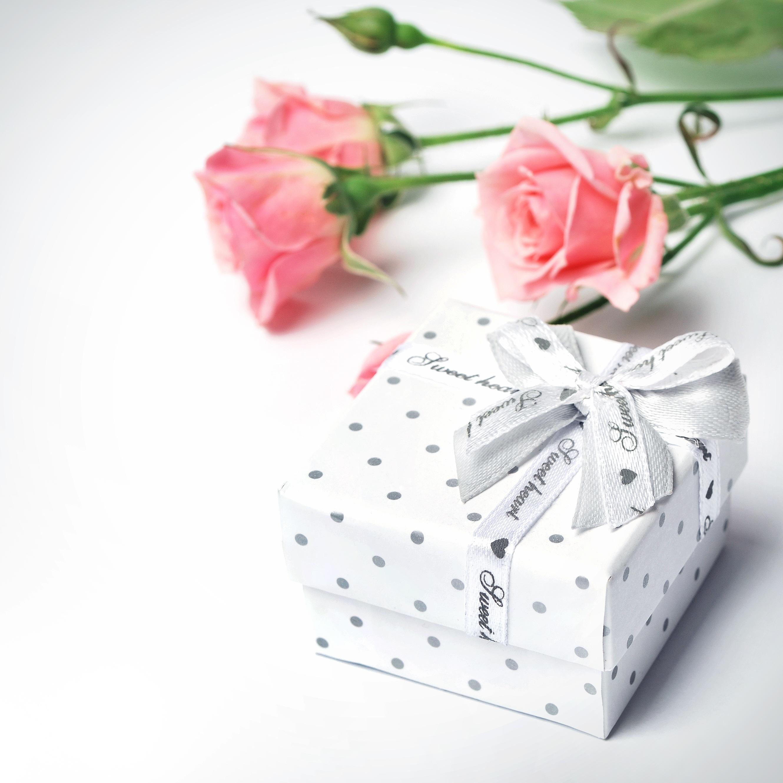 hvid rose symbol