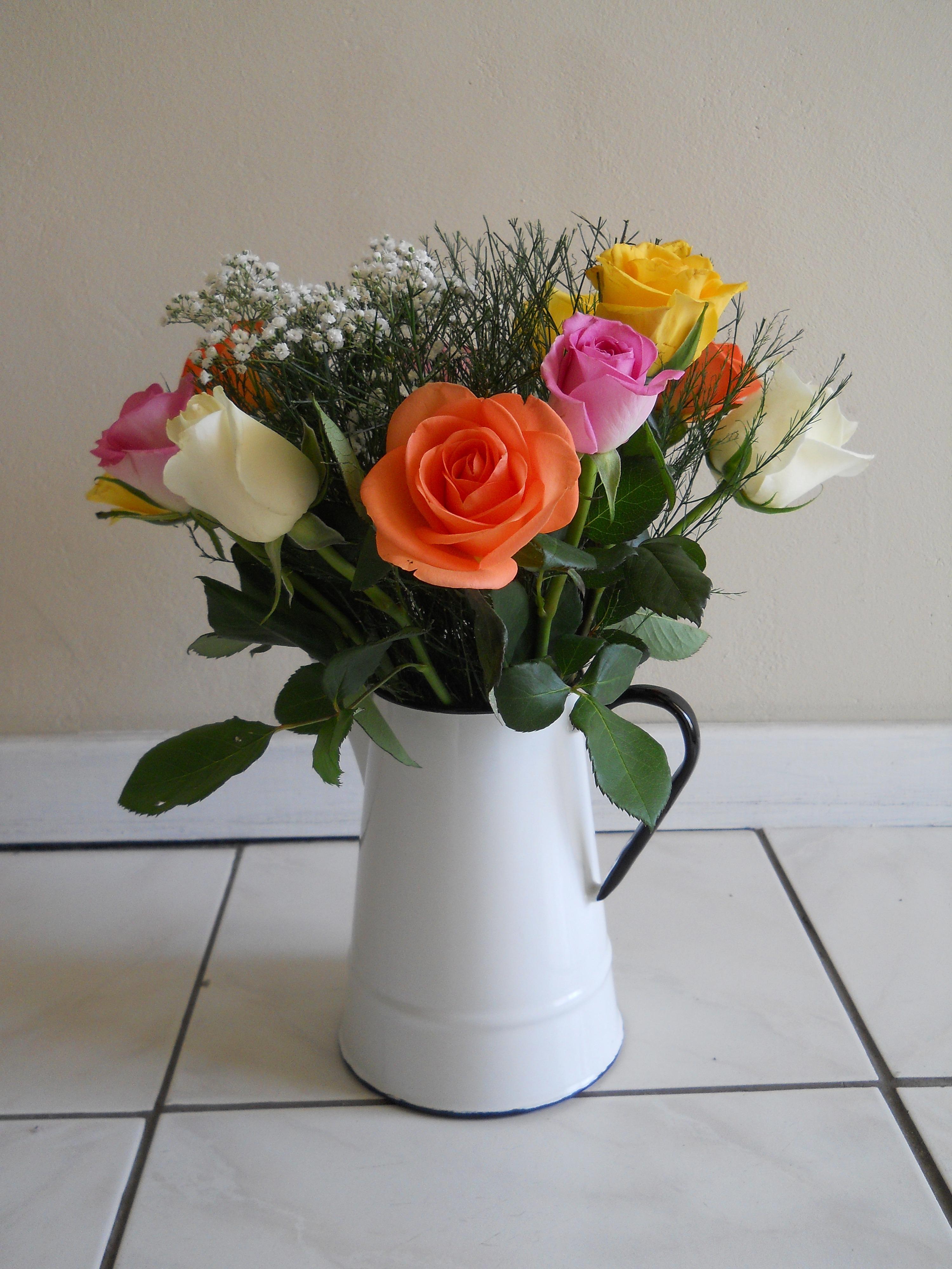 маленькие букеты цветов фото дома