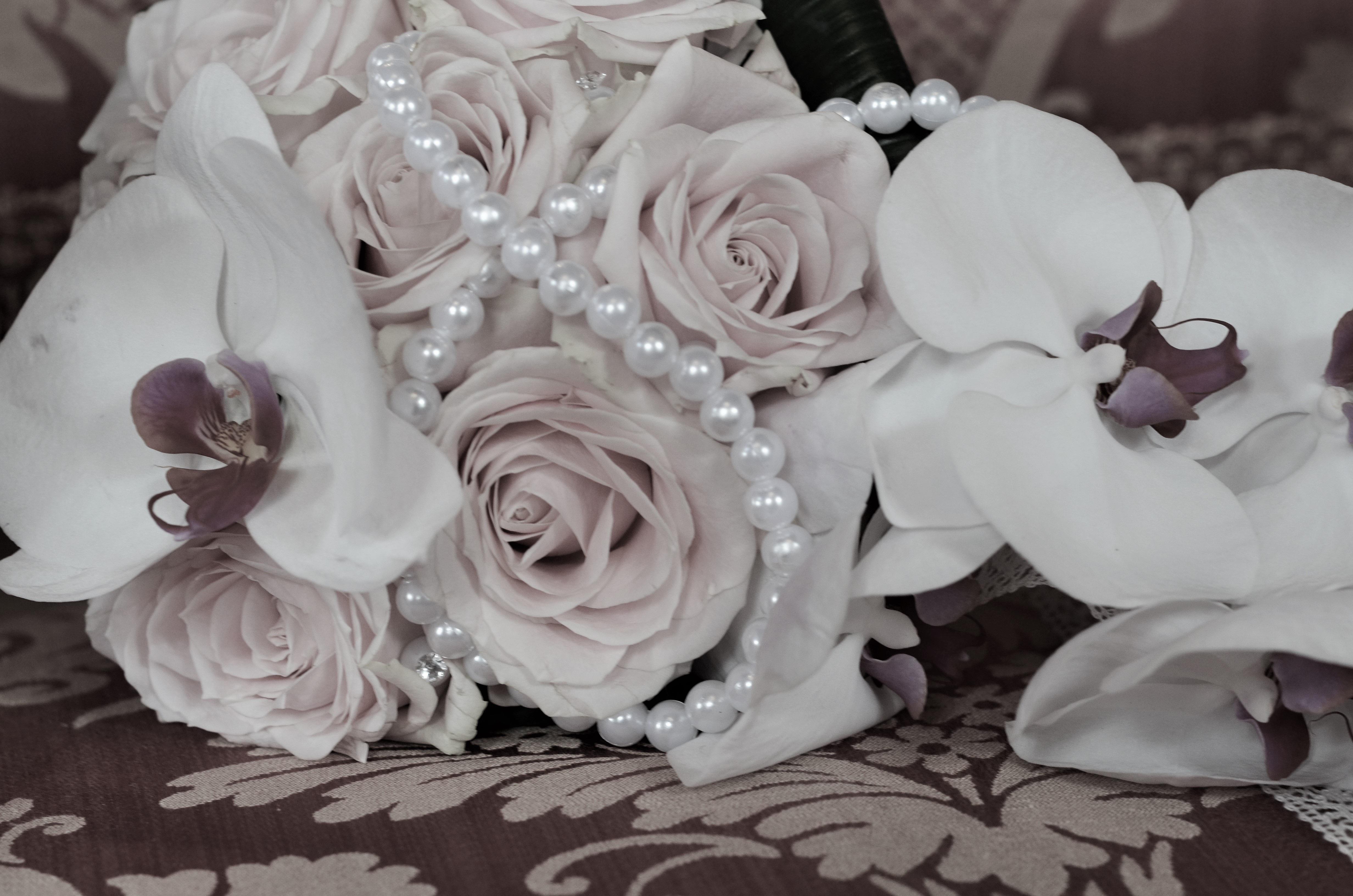 Букет из орхидей свадьба — photo 13