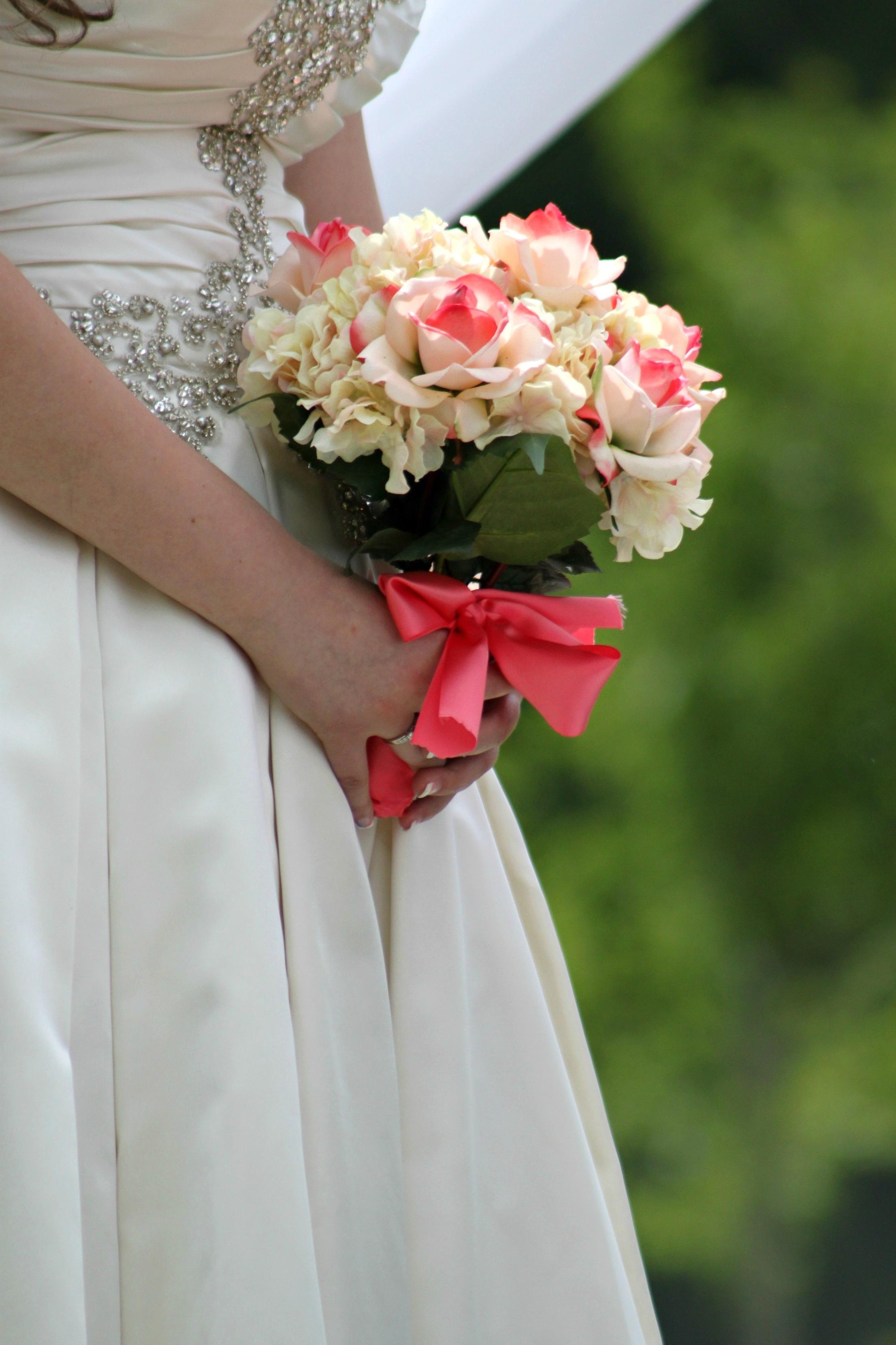 Free Images : plant, woman, white, petal, spring, pink, wedding ...