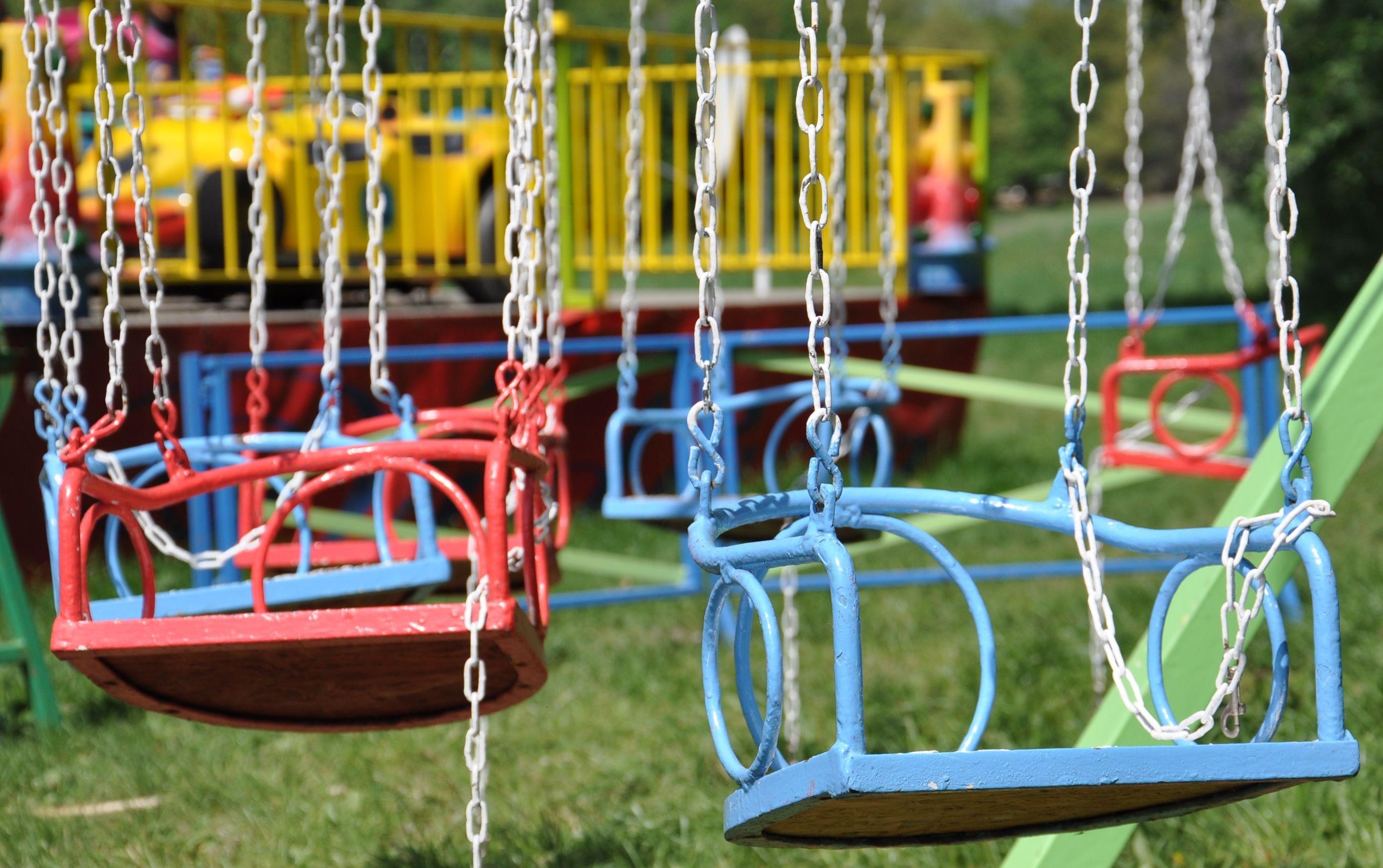 free images chair city amusement park color backyard