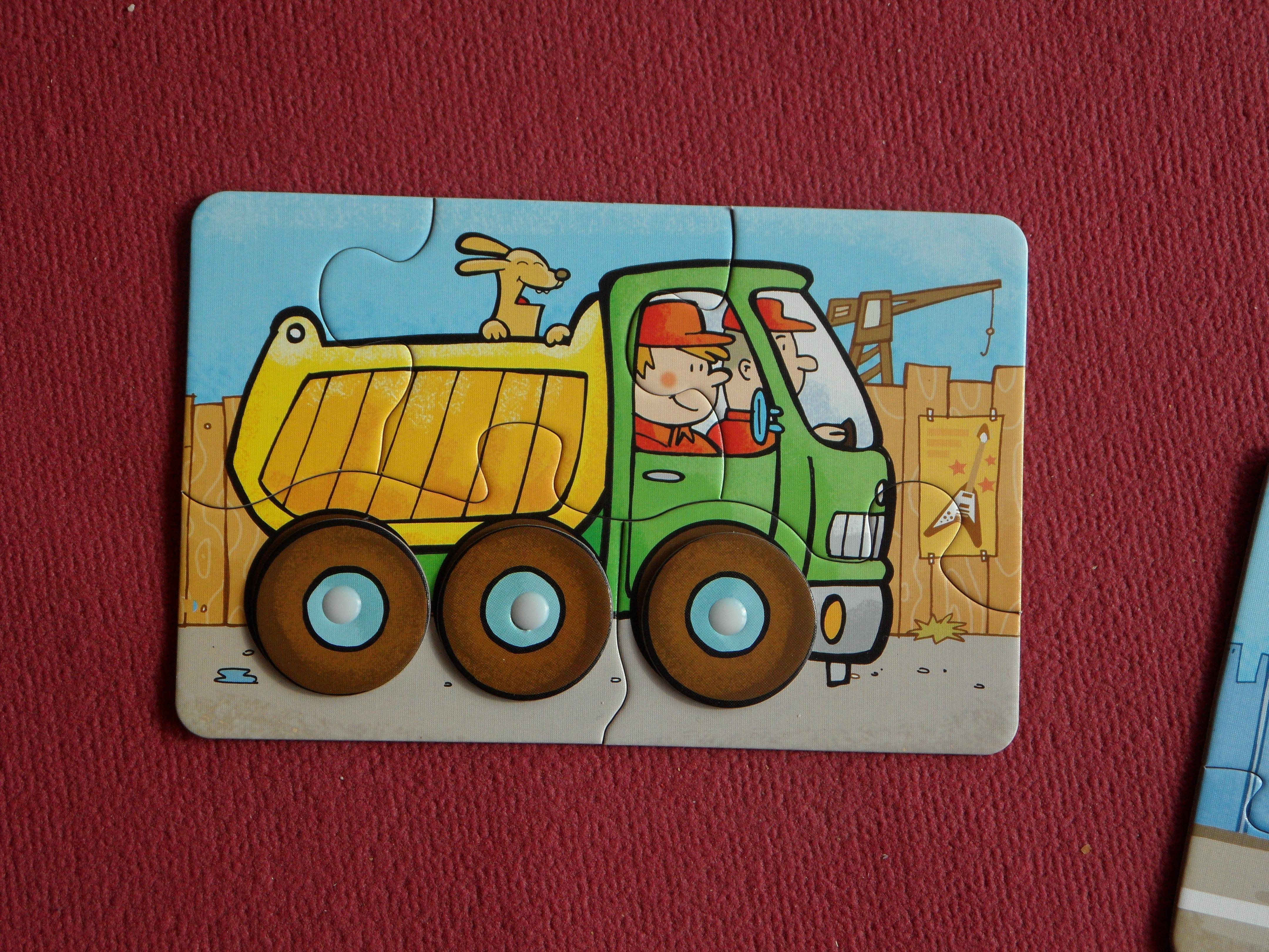 Gambar Bermain Jumlah Truk Kendaraan Mainan Seni Anak Anak