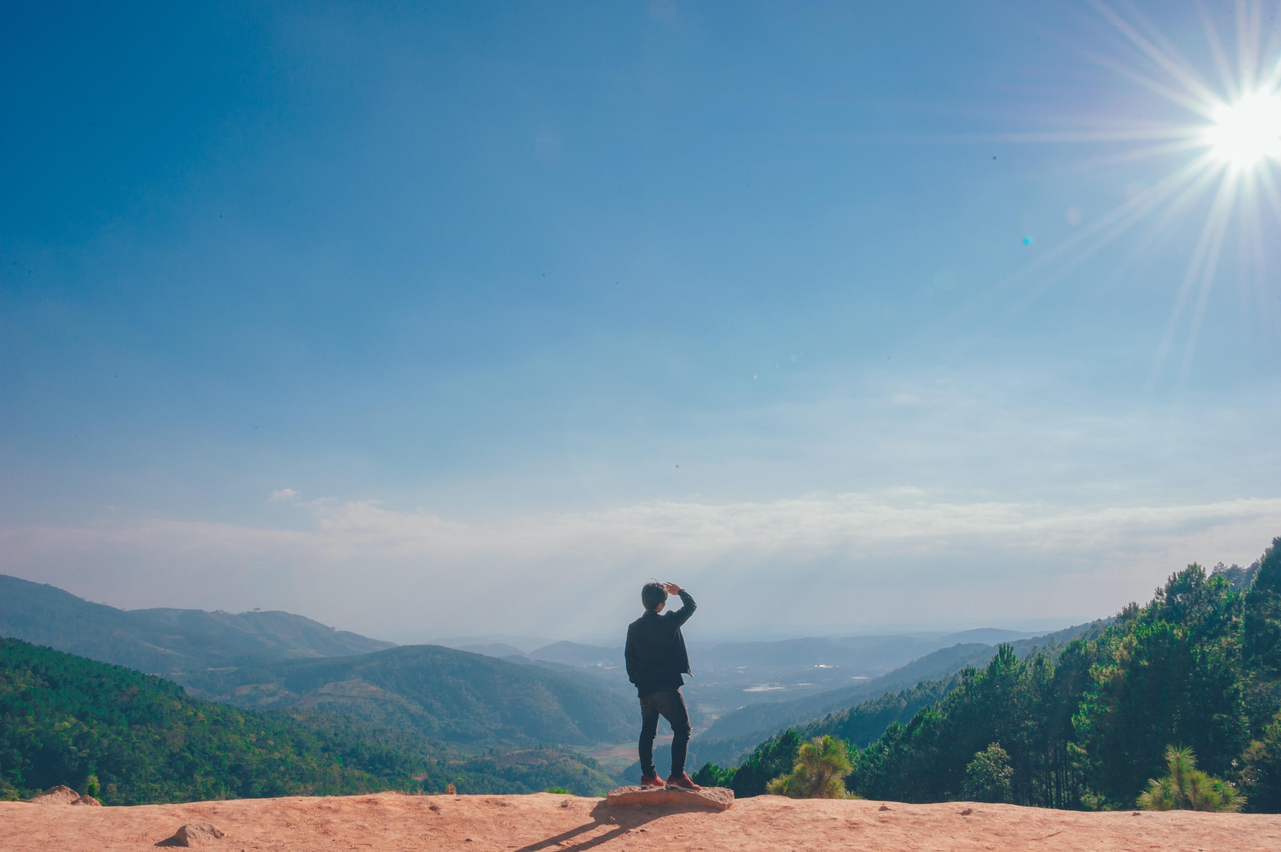 Gambar Potret Indah Pastel Langit Bentang Alam