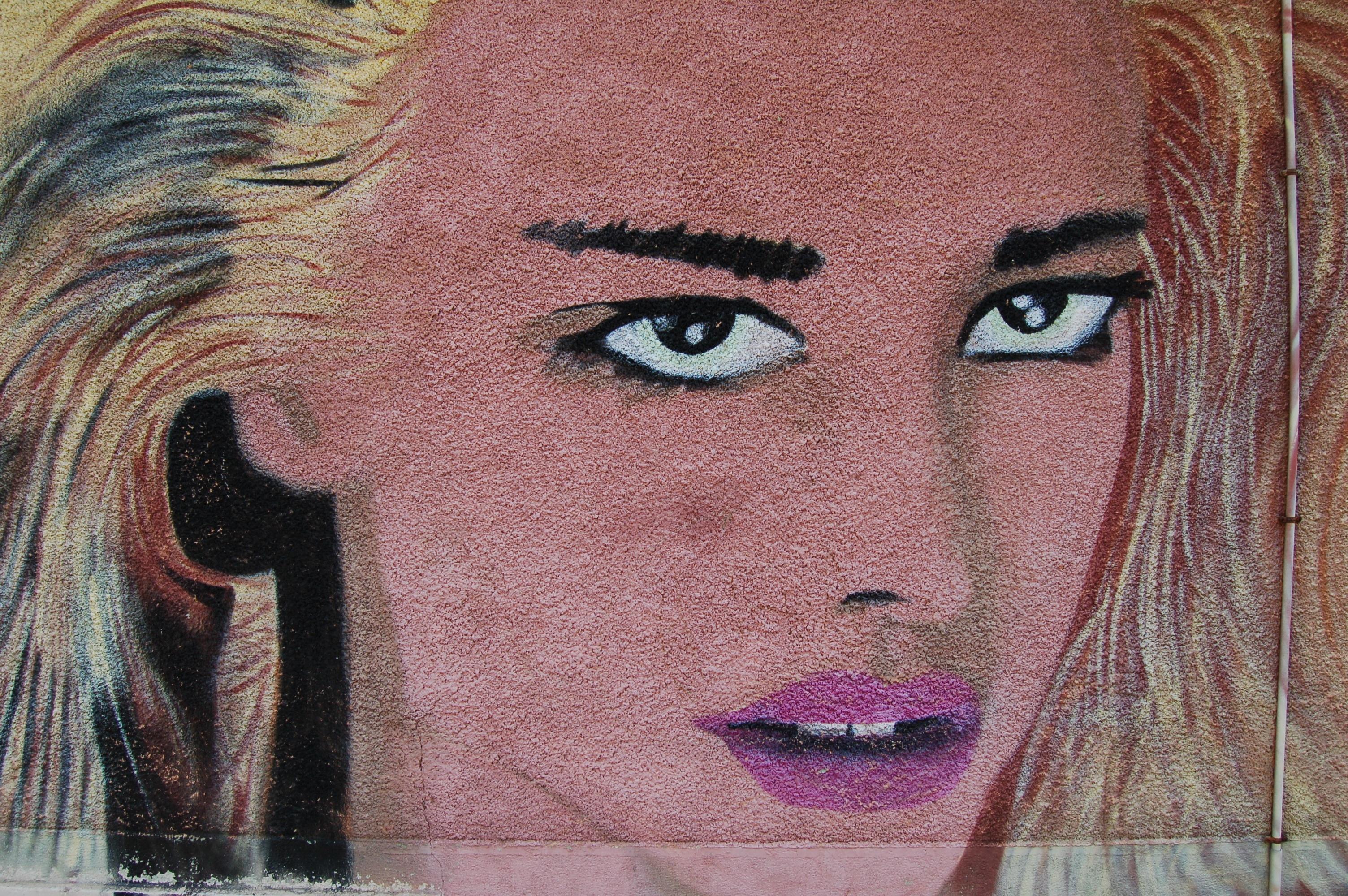 Fotoğraf Portre Renk Boyama Insan Vücudu Yüz Burun Eskiz