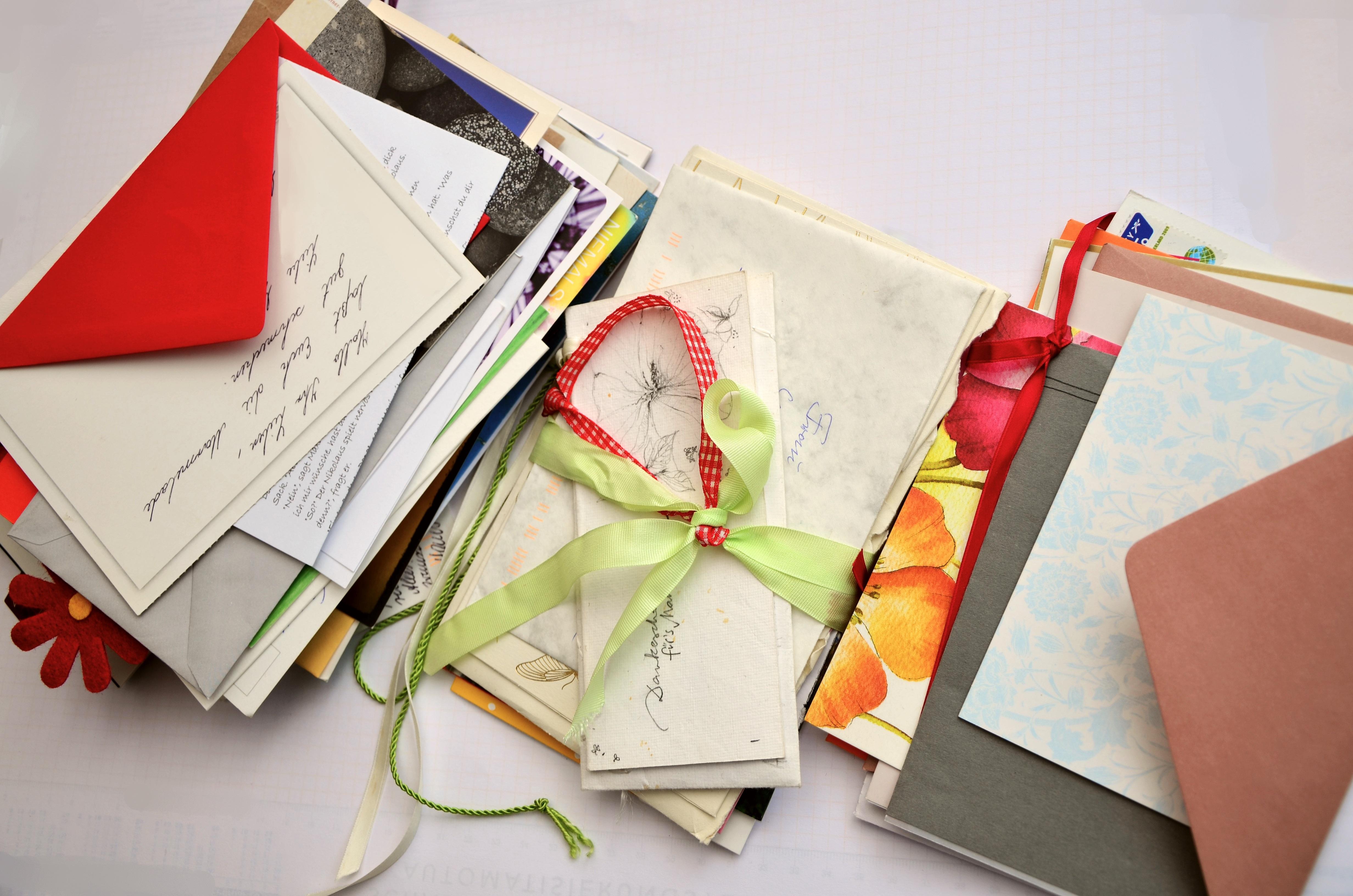 Открытки по почте бумажные