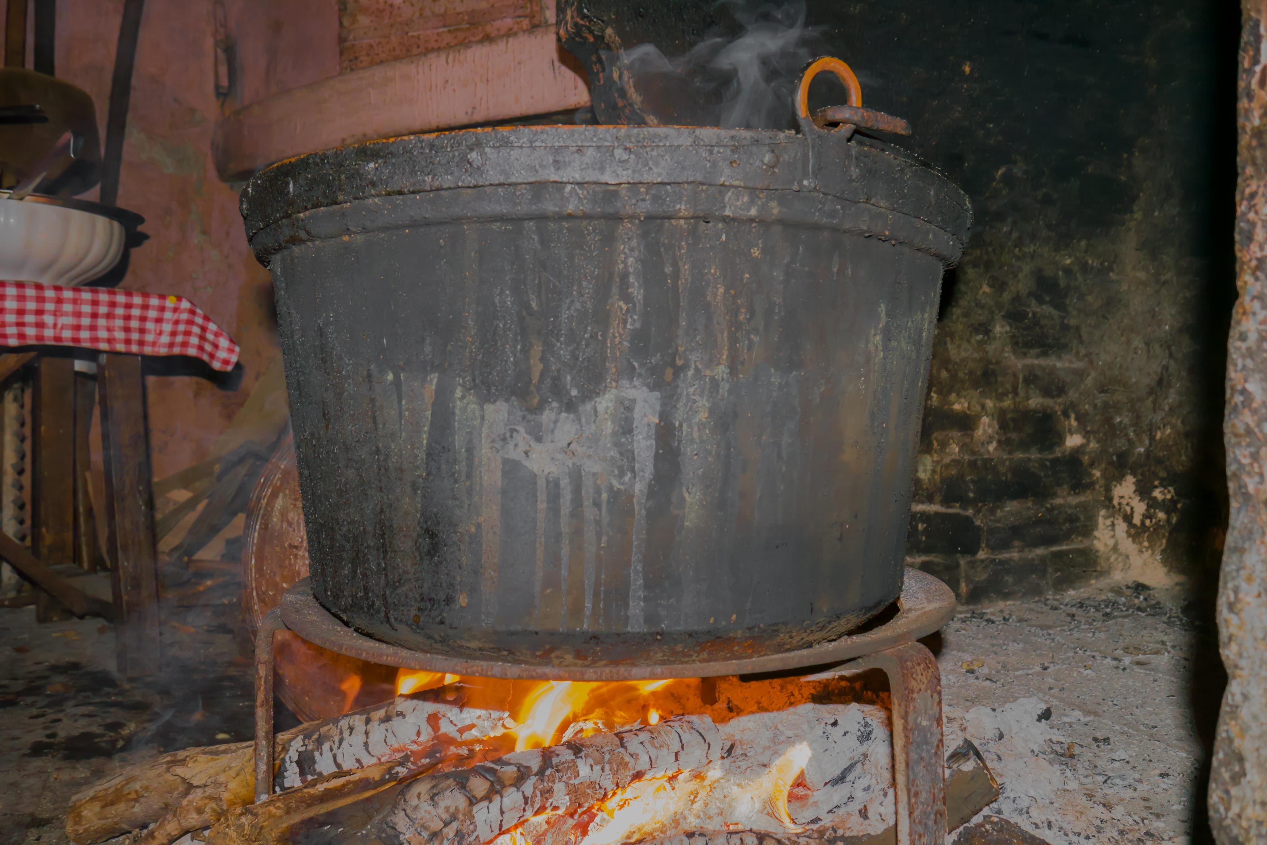 Kamin Essen kostenlose foto pot braten lebensmittel flamme feuer kamin