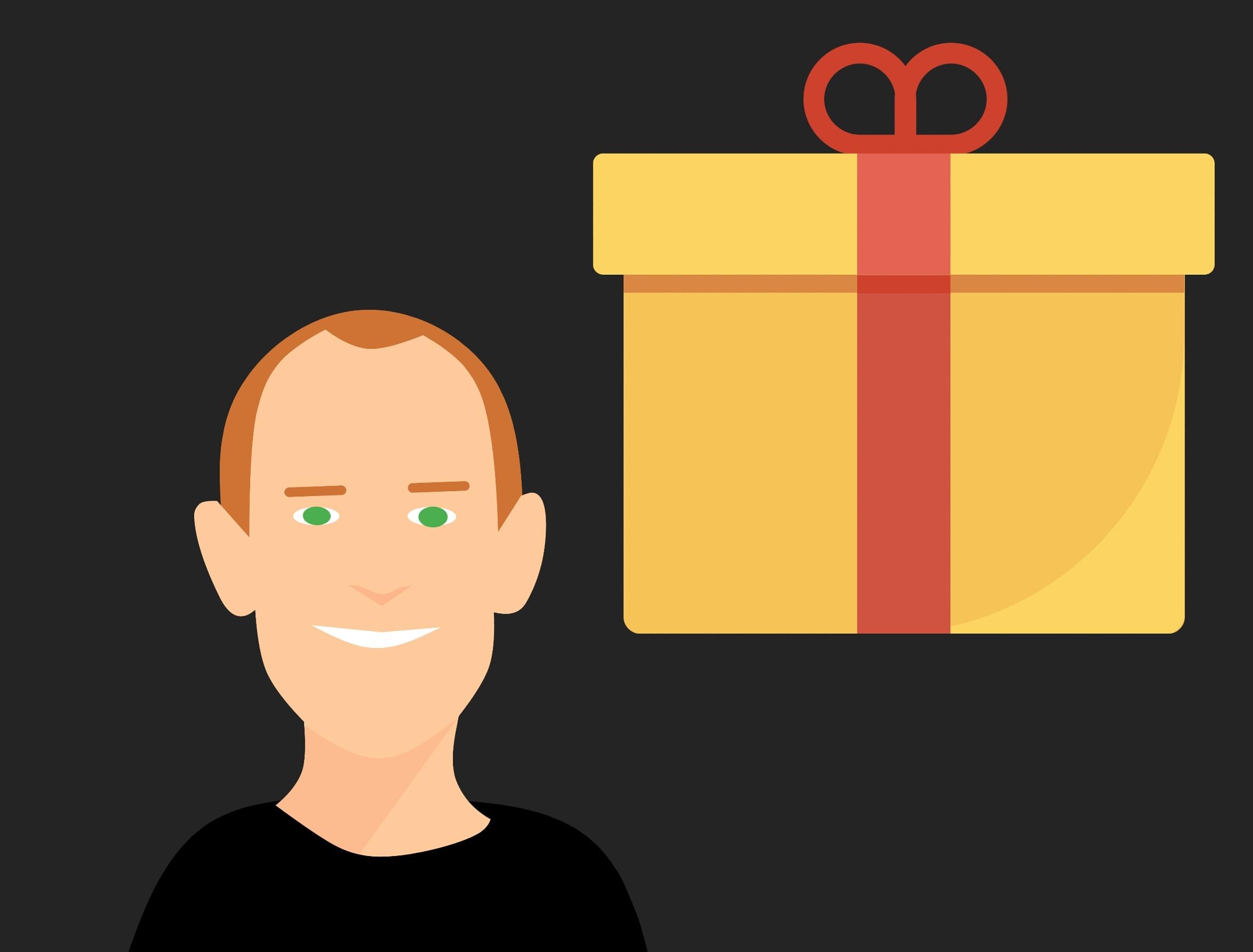 Gambar Menyajikan Kartu Ucapan Hadiah Gift Icon Pita Gift