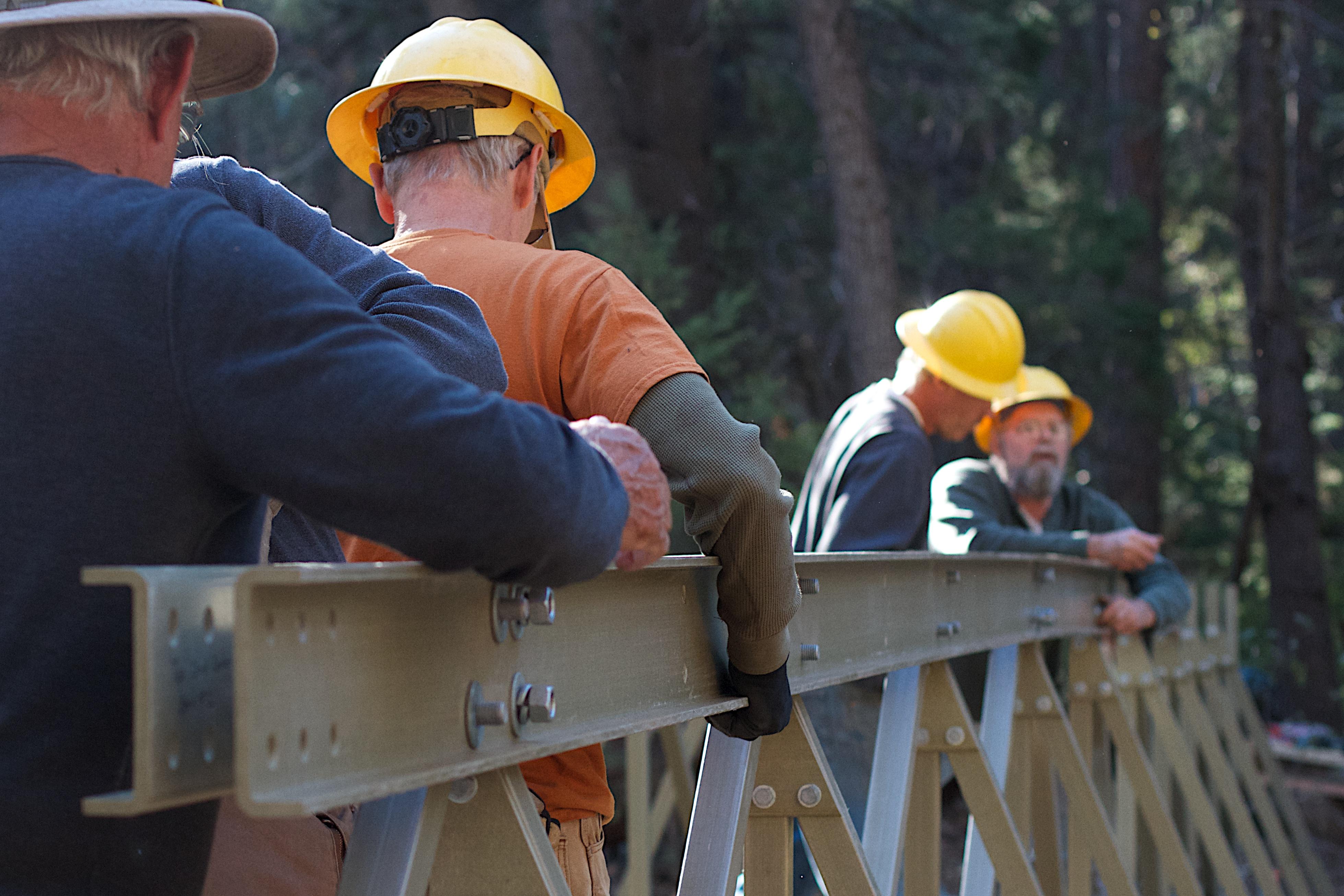 pstrails laborer construction worker