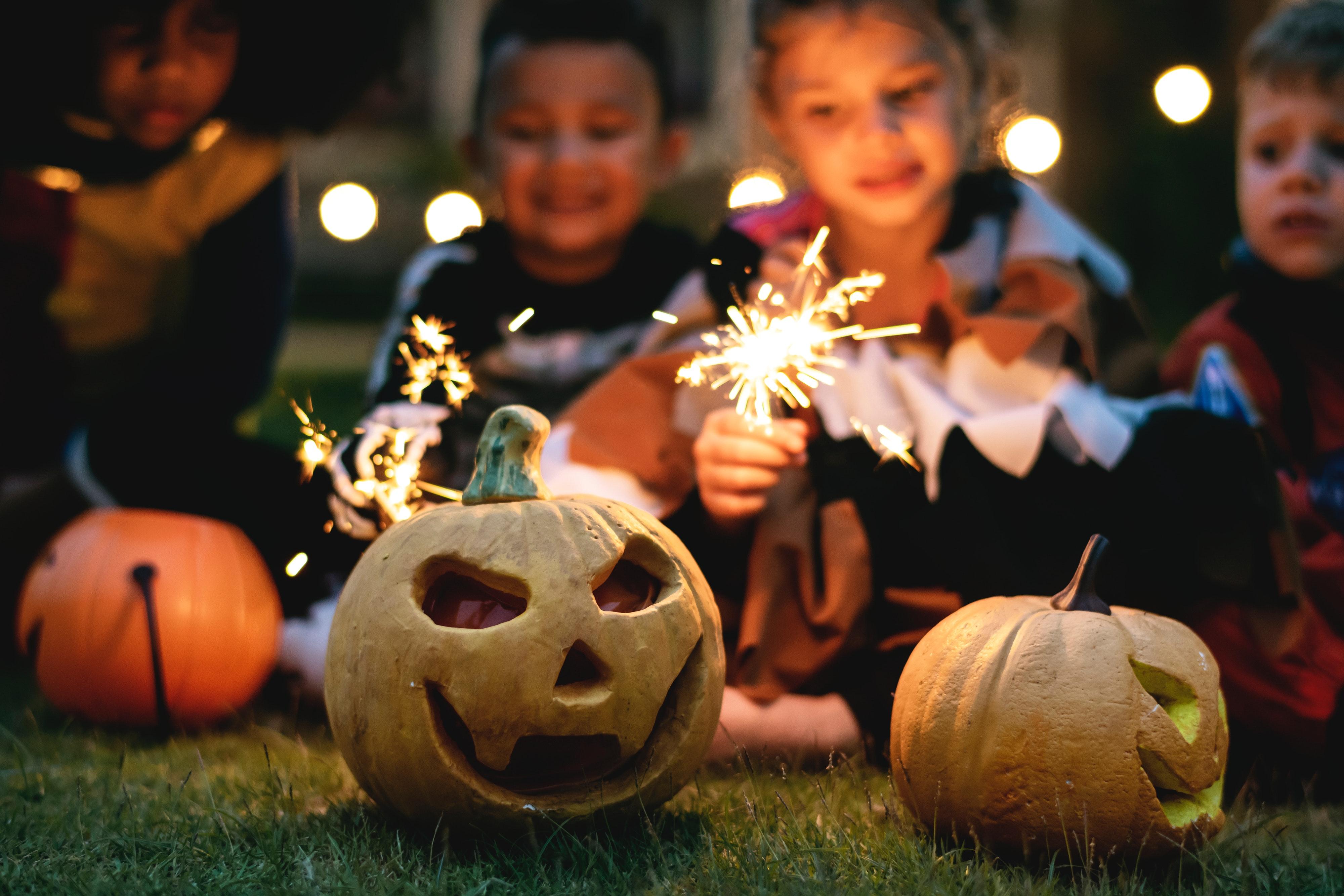 Immagini belle zucca halloween jack o lantern tradizione