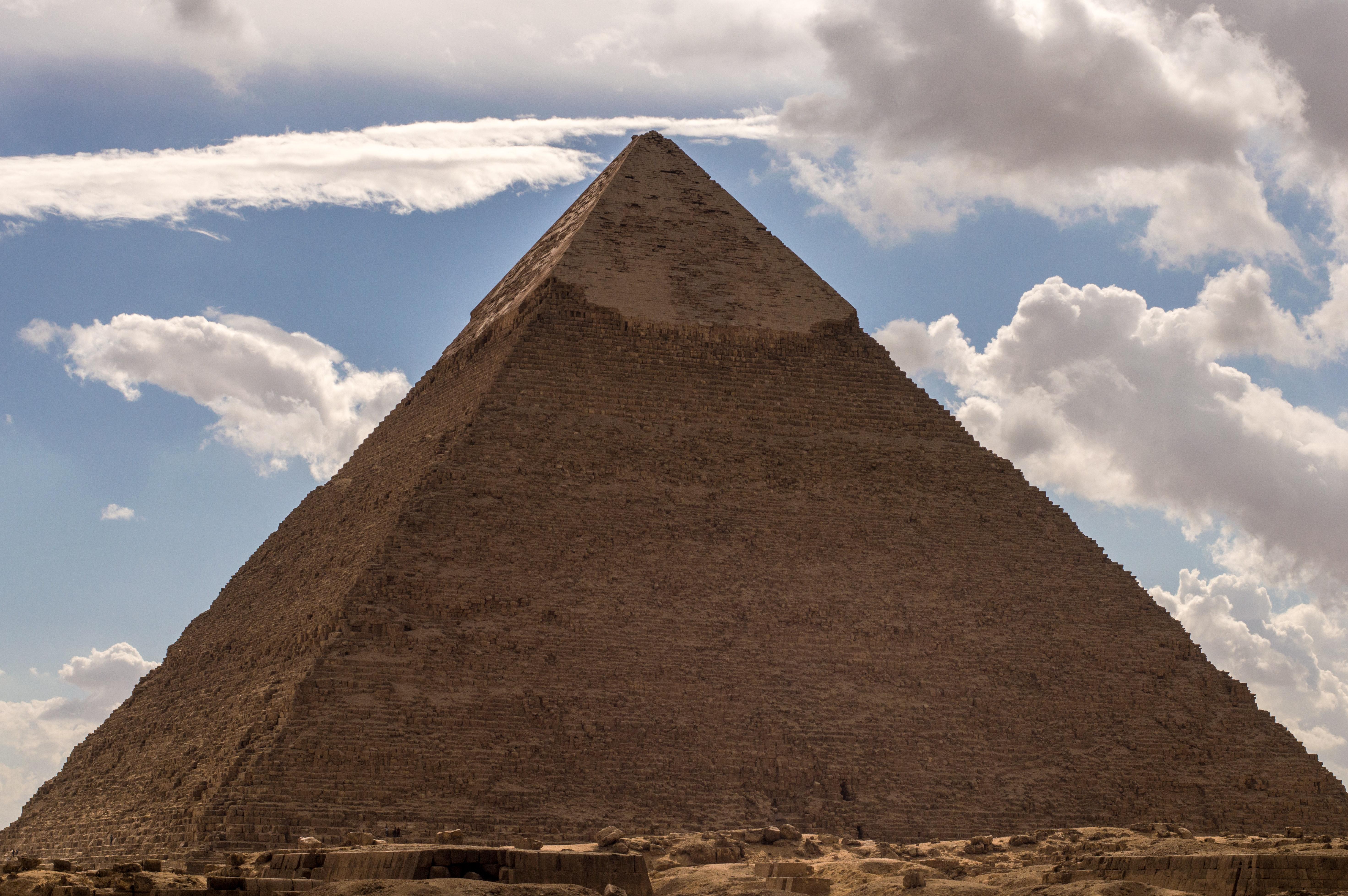 это рекомендуется что я вижу на картинке пирамида фараон может